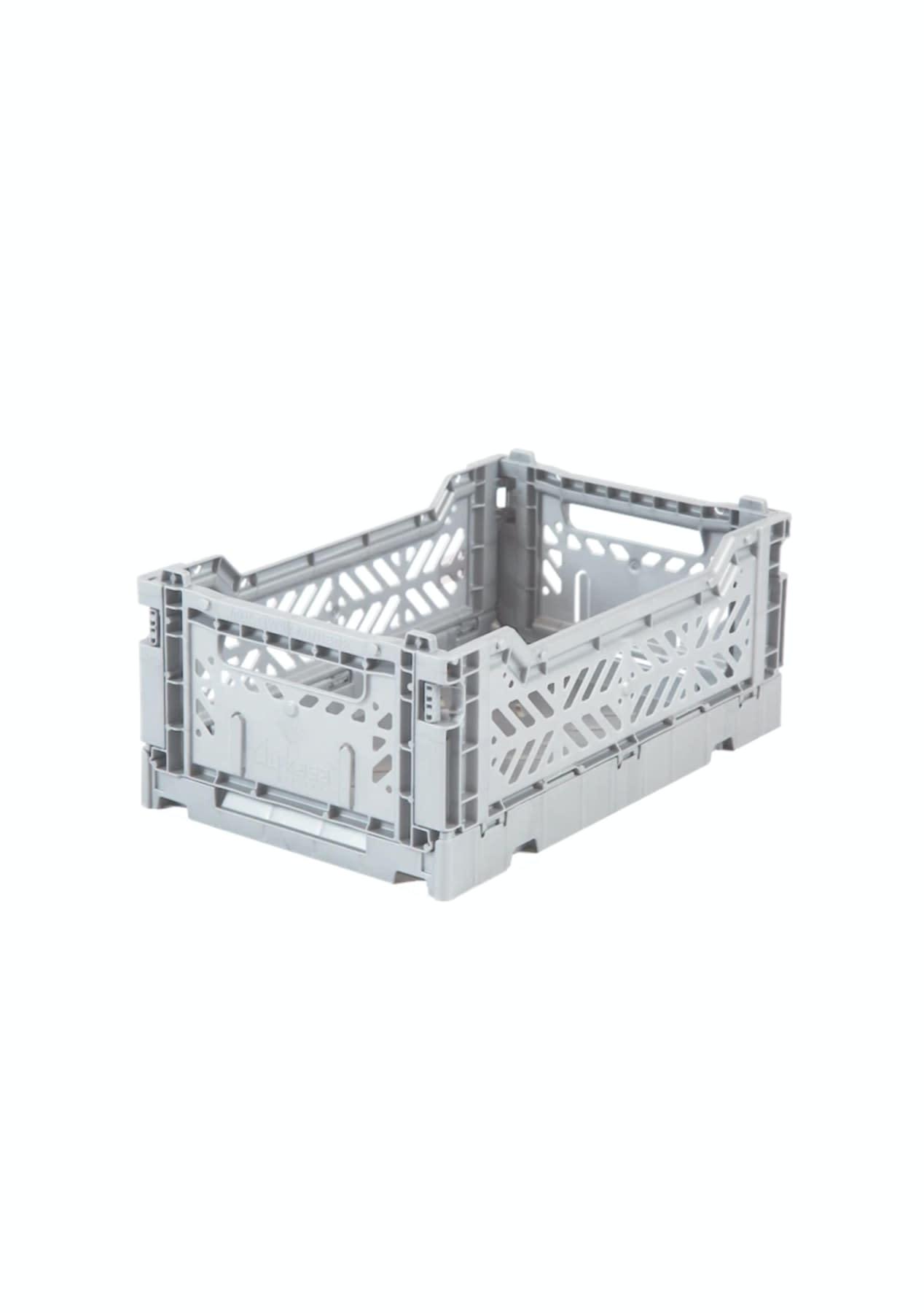 Aykasa plastbox mini 27x17 light grey