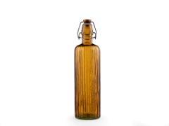 Bitz Vattenflaska i återvunnet glas 0,75 l, amber