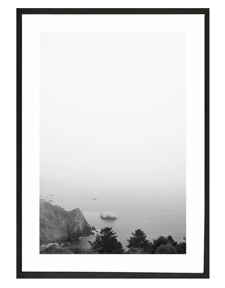 Moreno print Monterey Fog 50x70
