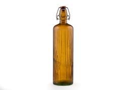 Bitz Vattenflaska i återvunnet glas 1,2 l, amber