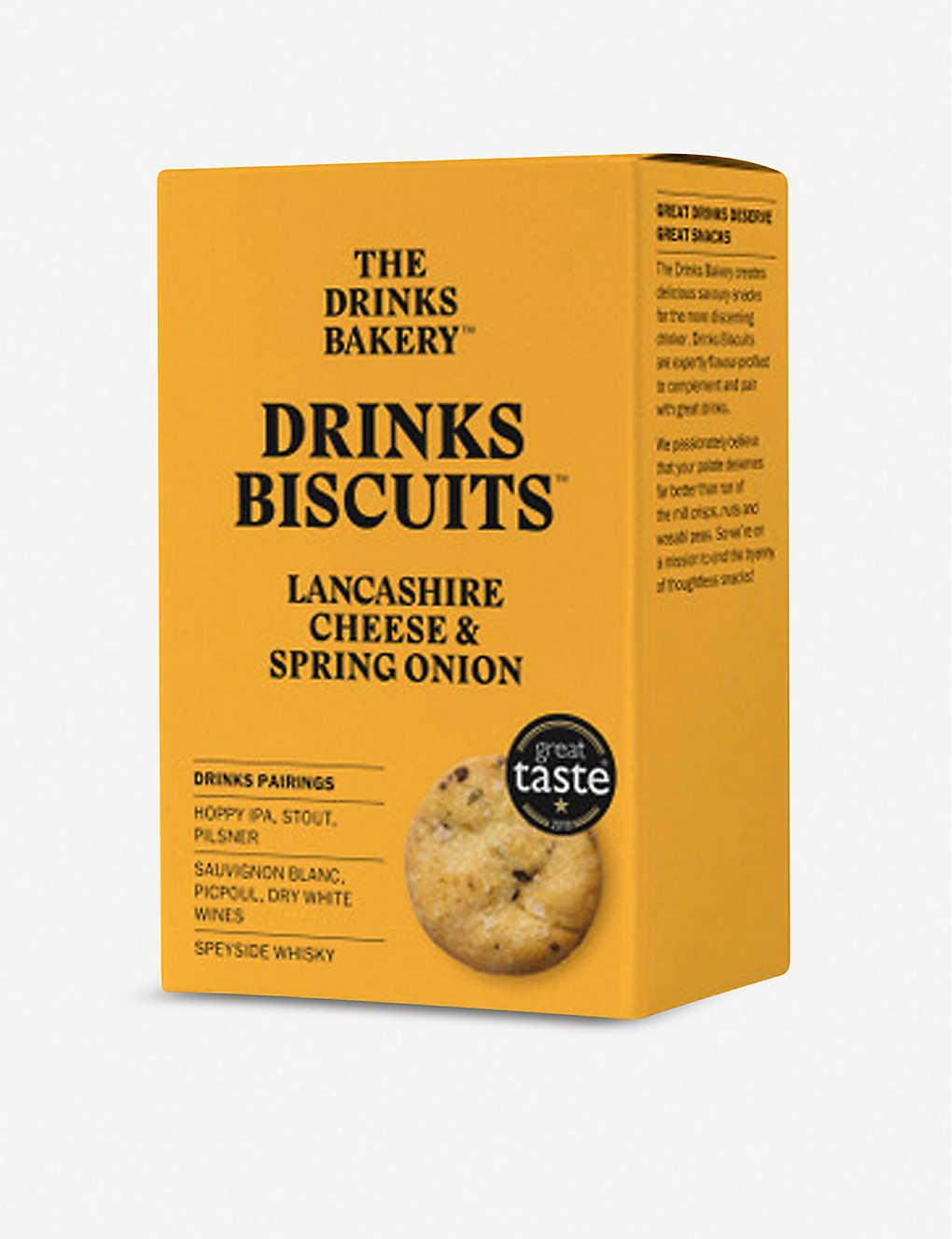 Drinks Bakery kex Lancashire-ost och vårlök