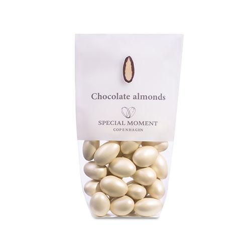 Nuts & More mandlar med ljus choklad med smak av gianduja 115g