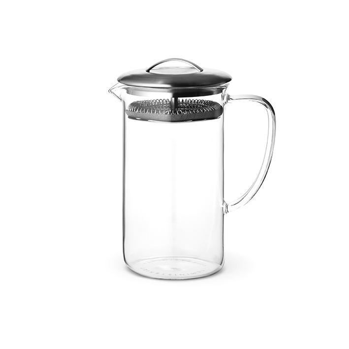 Teakanna, glas, 0,6 liter