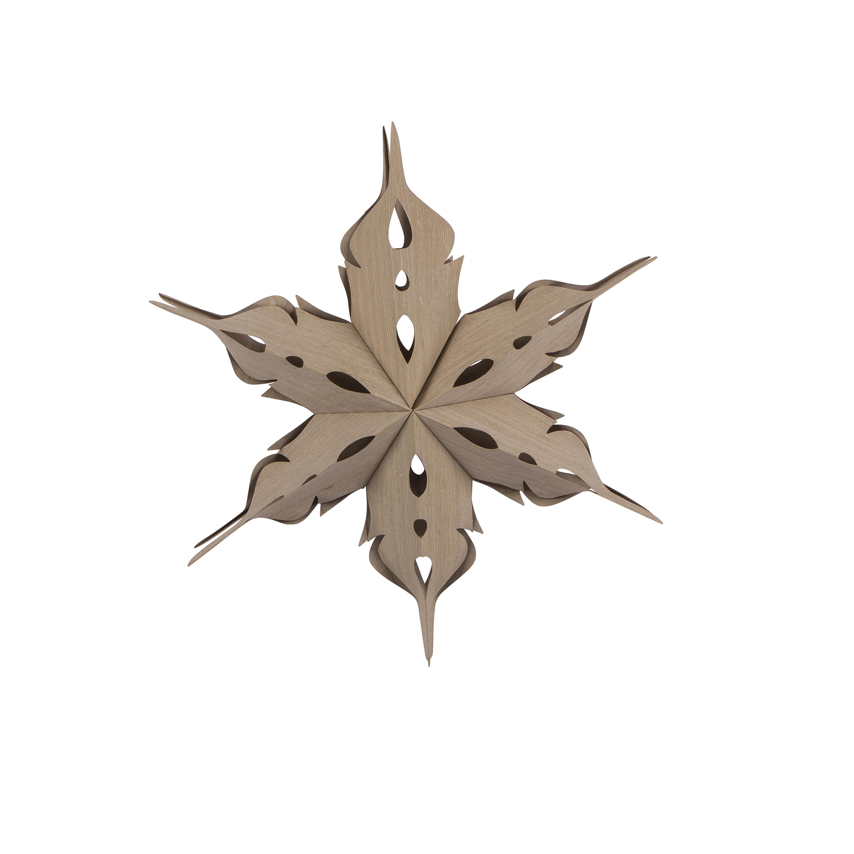 Sale Broste Dekorationsstjärna Veneer i trä ø40cm