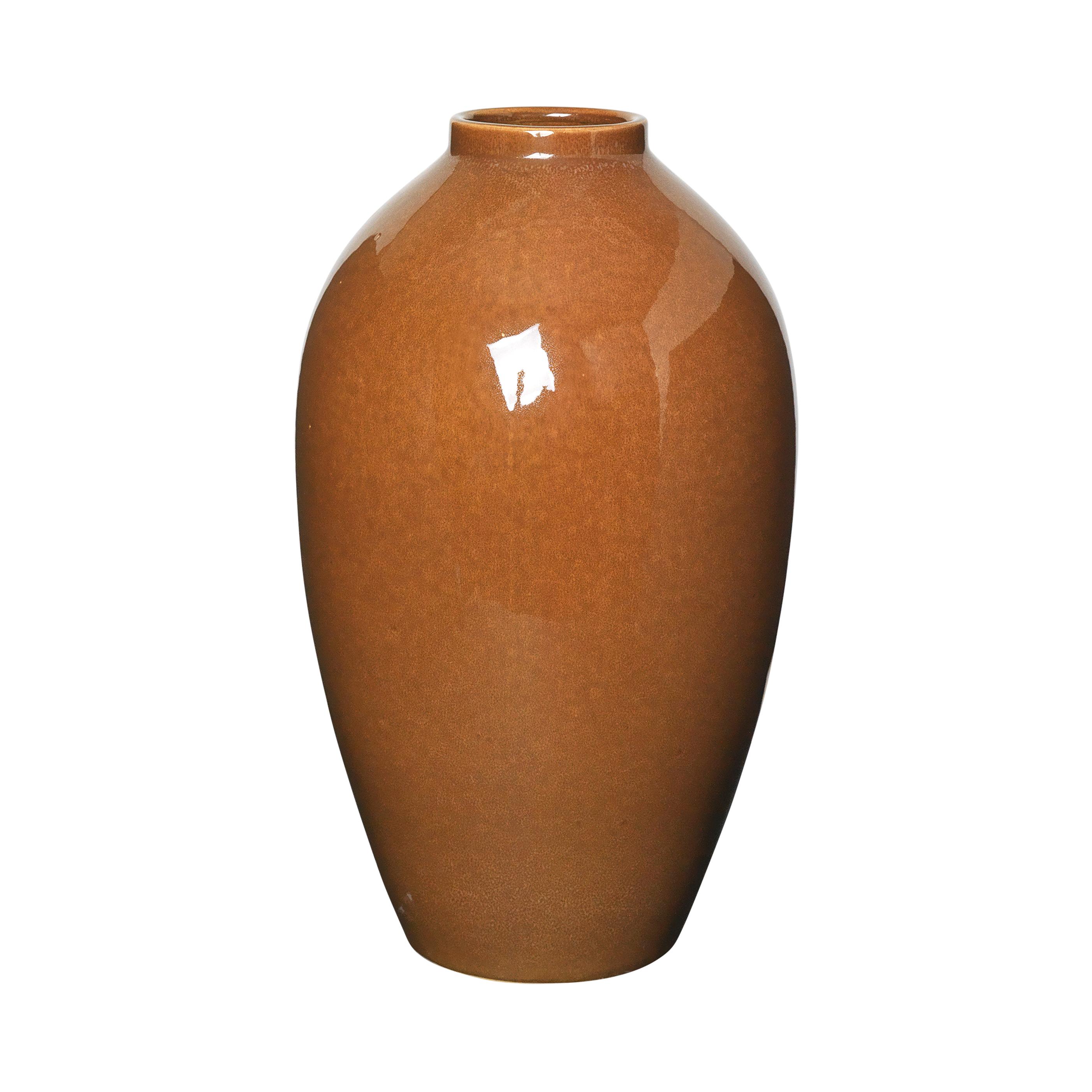 Broste Vas Ingrid keramik Caramel café