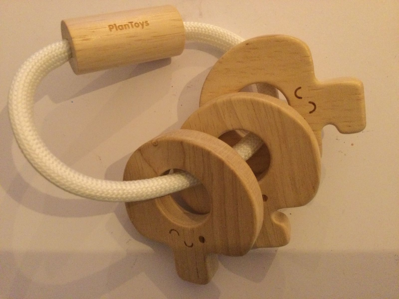 Plan Toys - Baby Kay's rattle natural