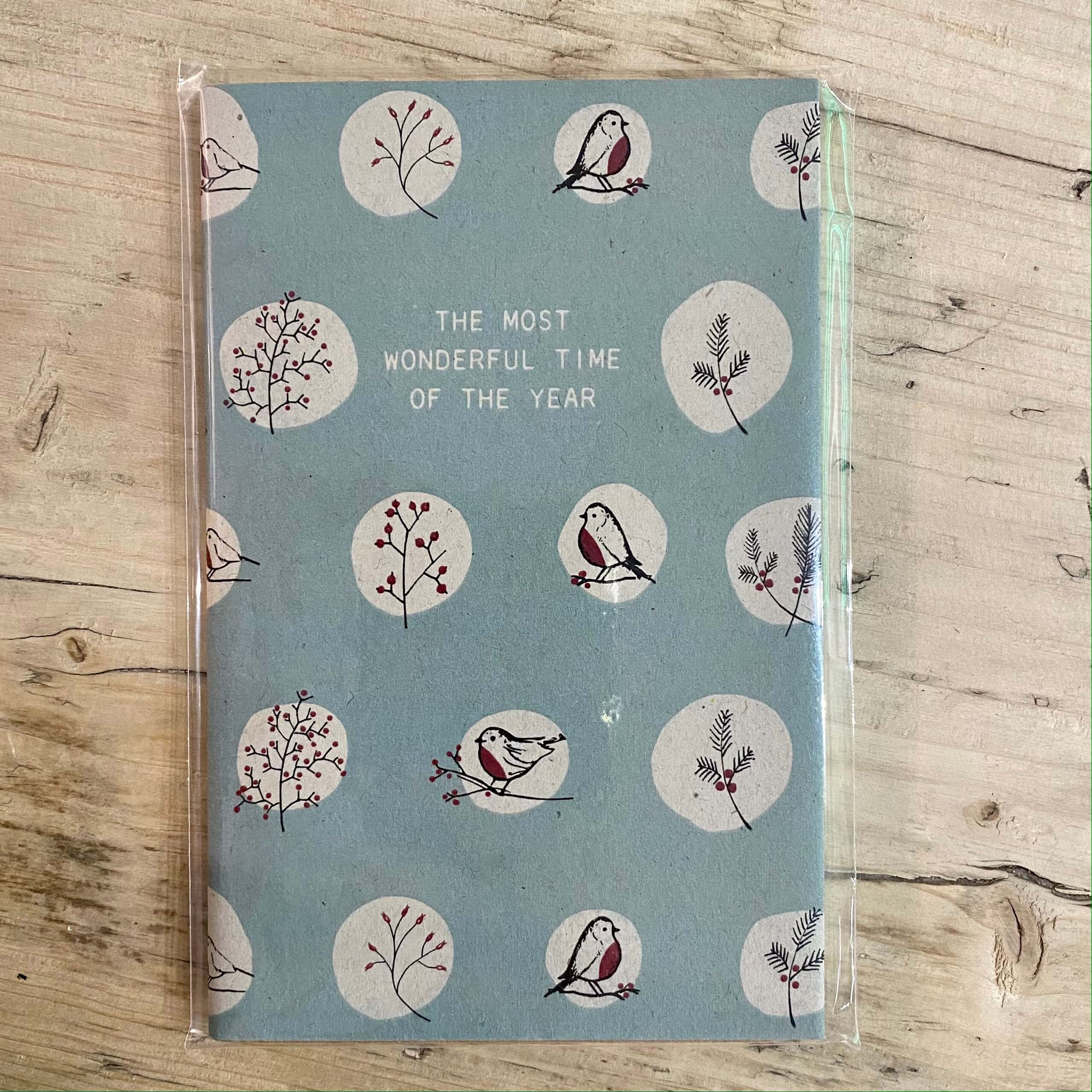 Wonderful Time of the Year Notebook