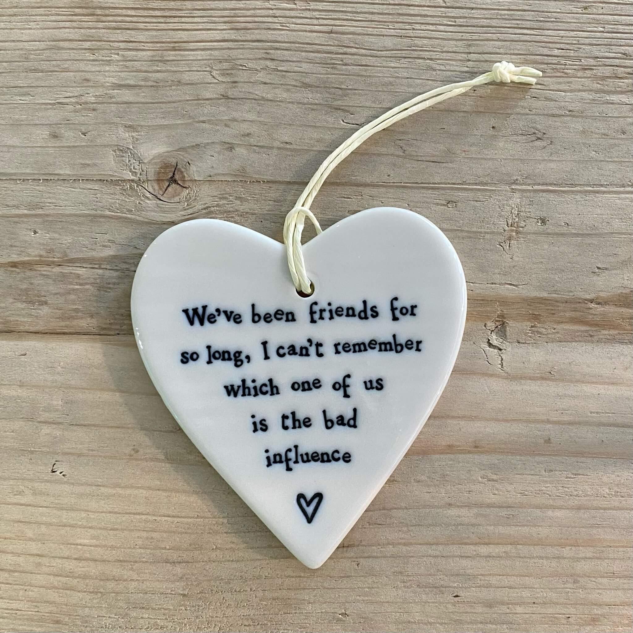 Porcelain Heart - Bad influence