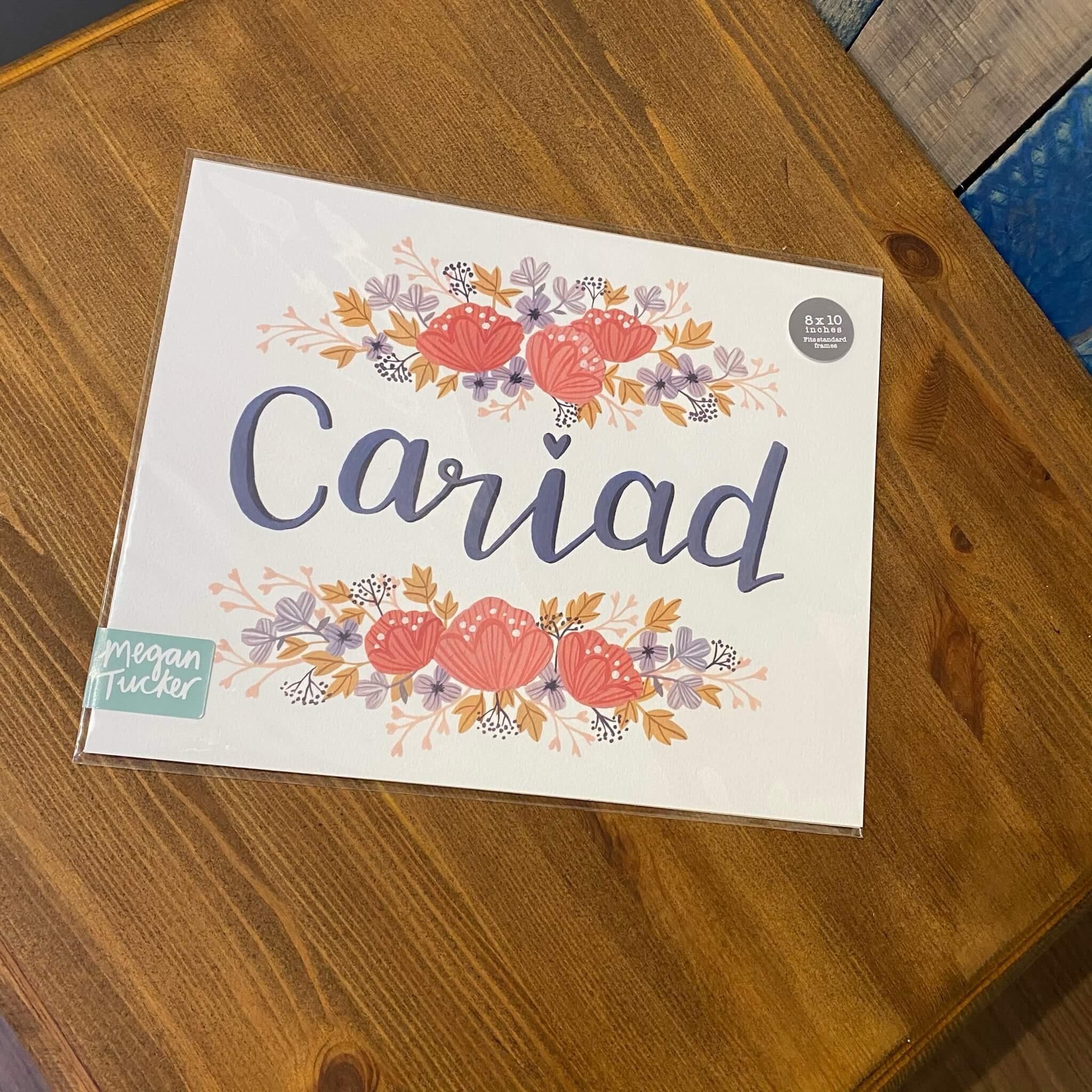 Cariad Print
