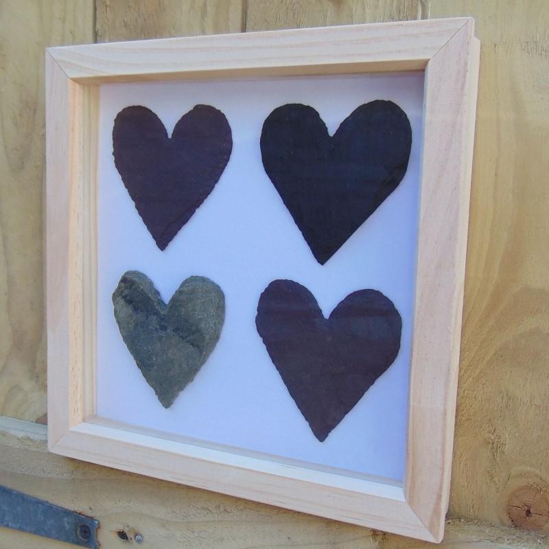4 Heart Slate