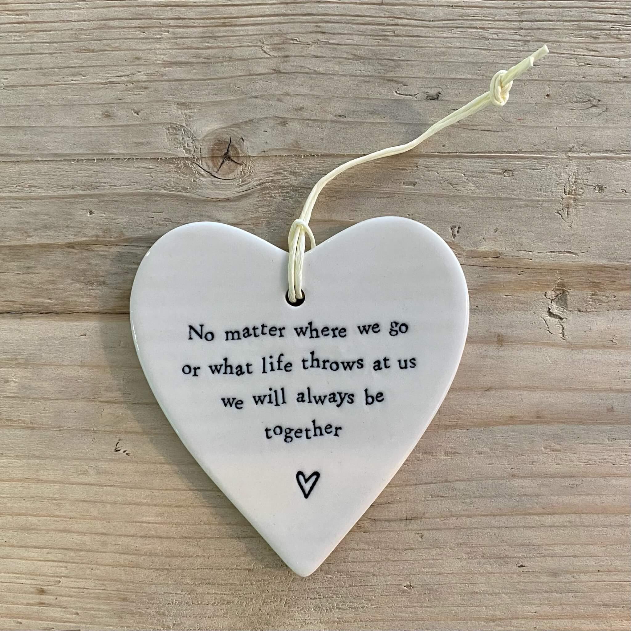 Porcelain Heart - No matter where