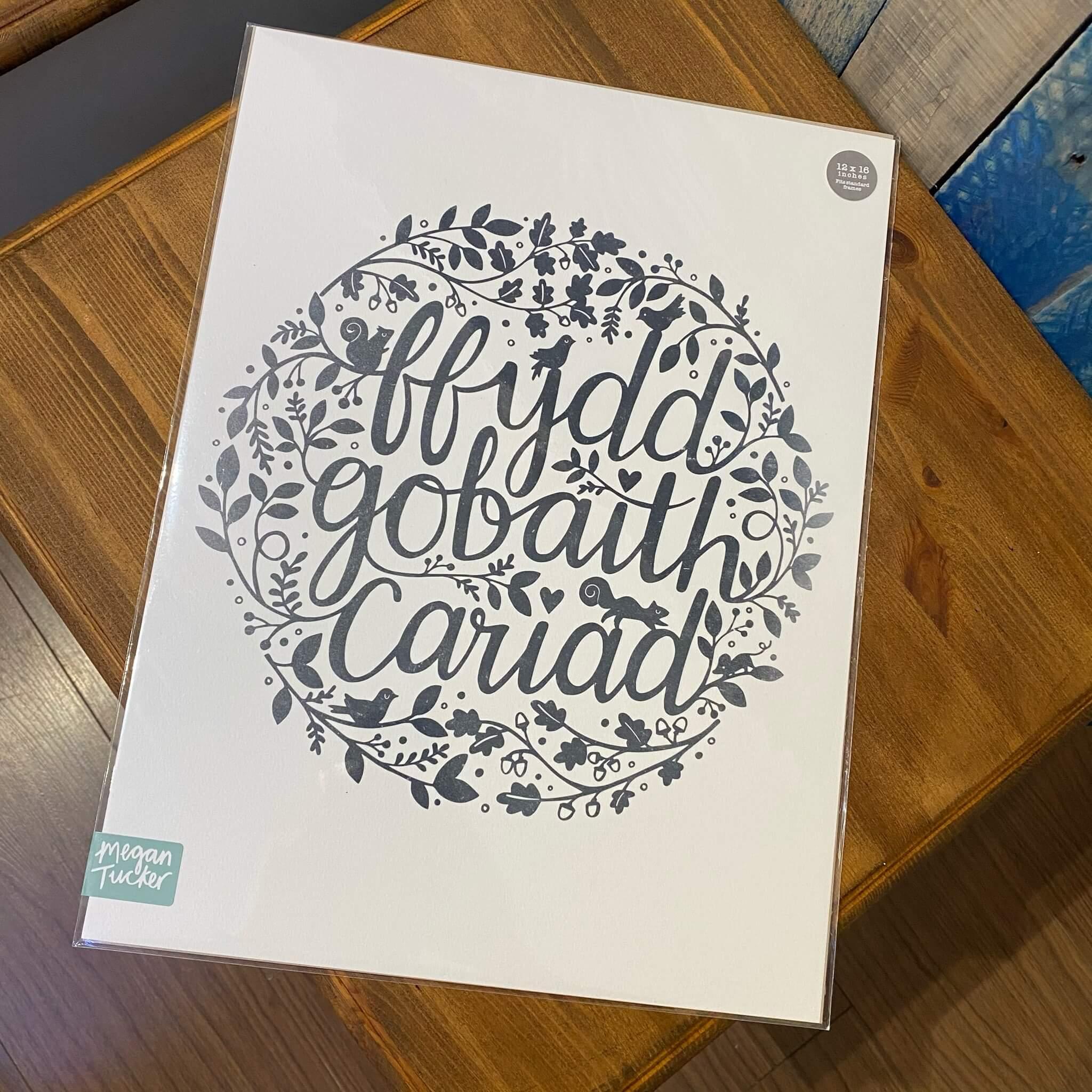 Ffydd Gobaith Cariad Print