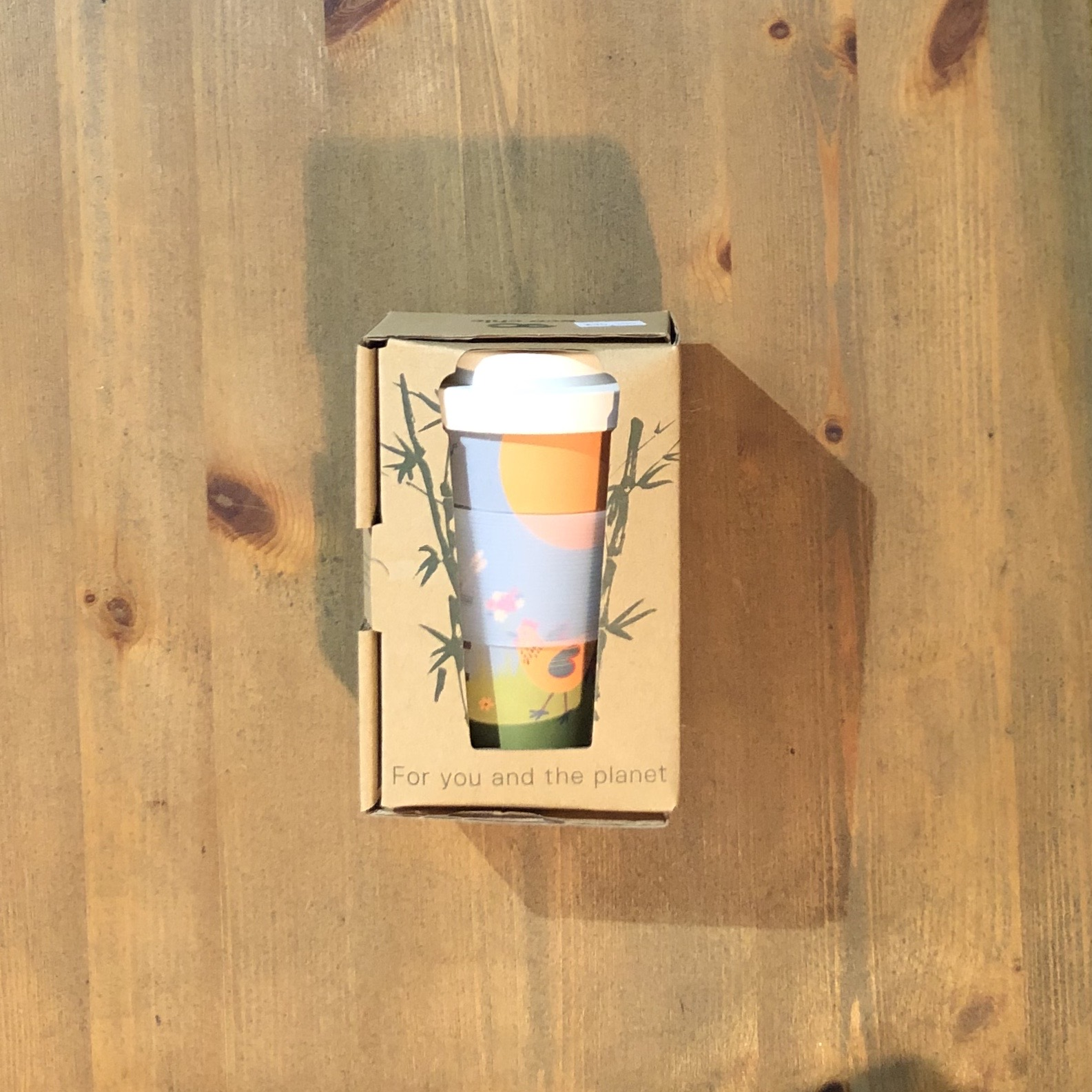 Bamboo Coffee Cups