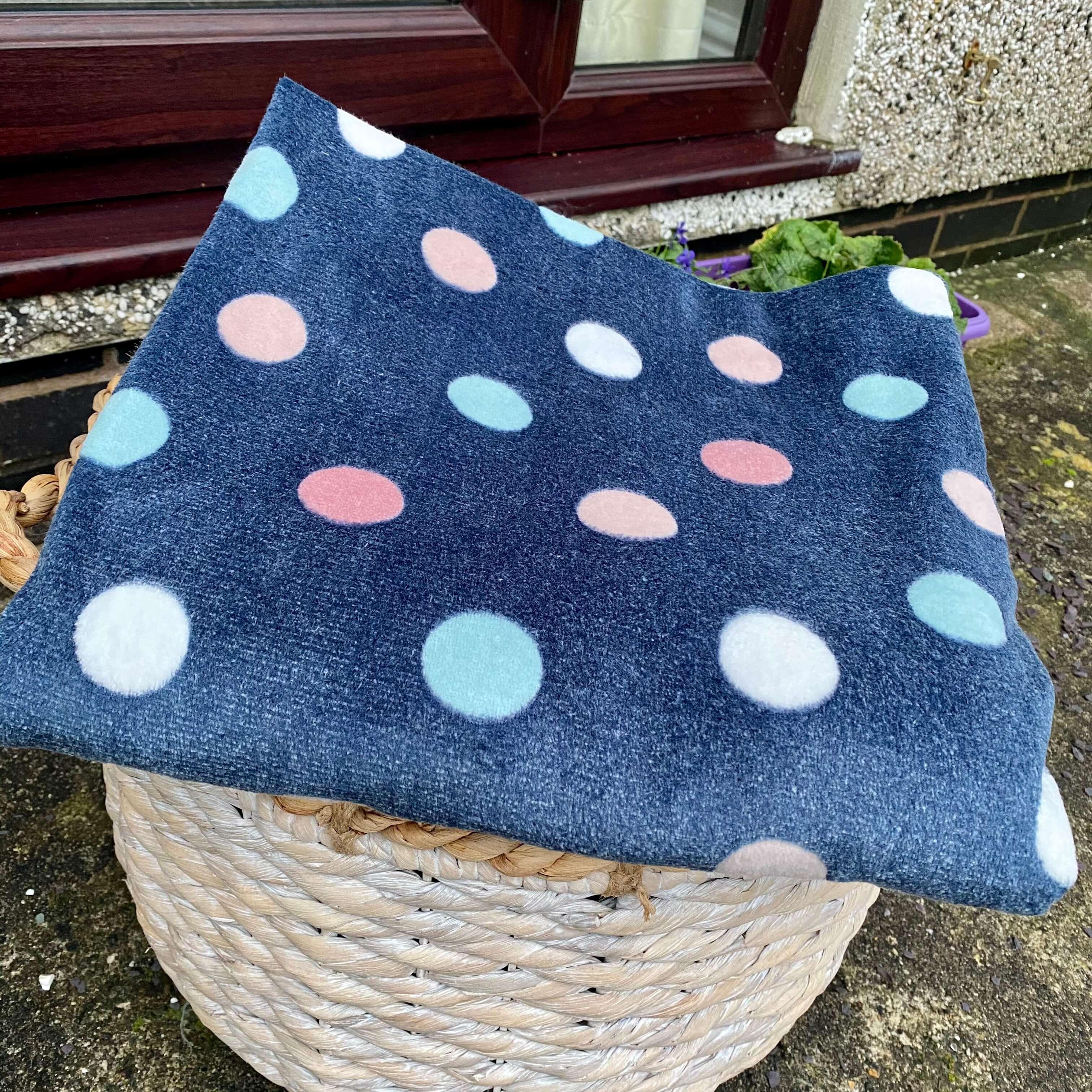 Dotty Fleece Blanket