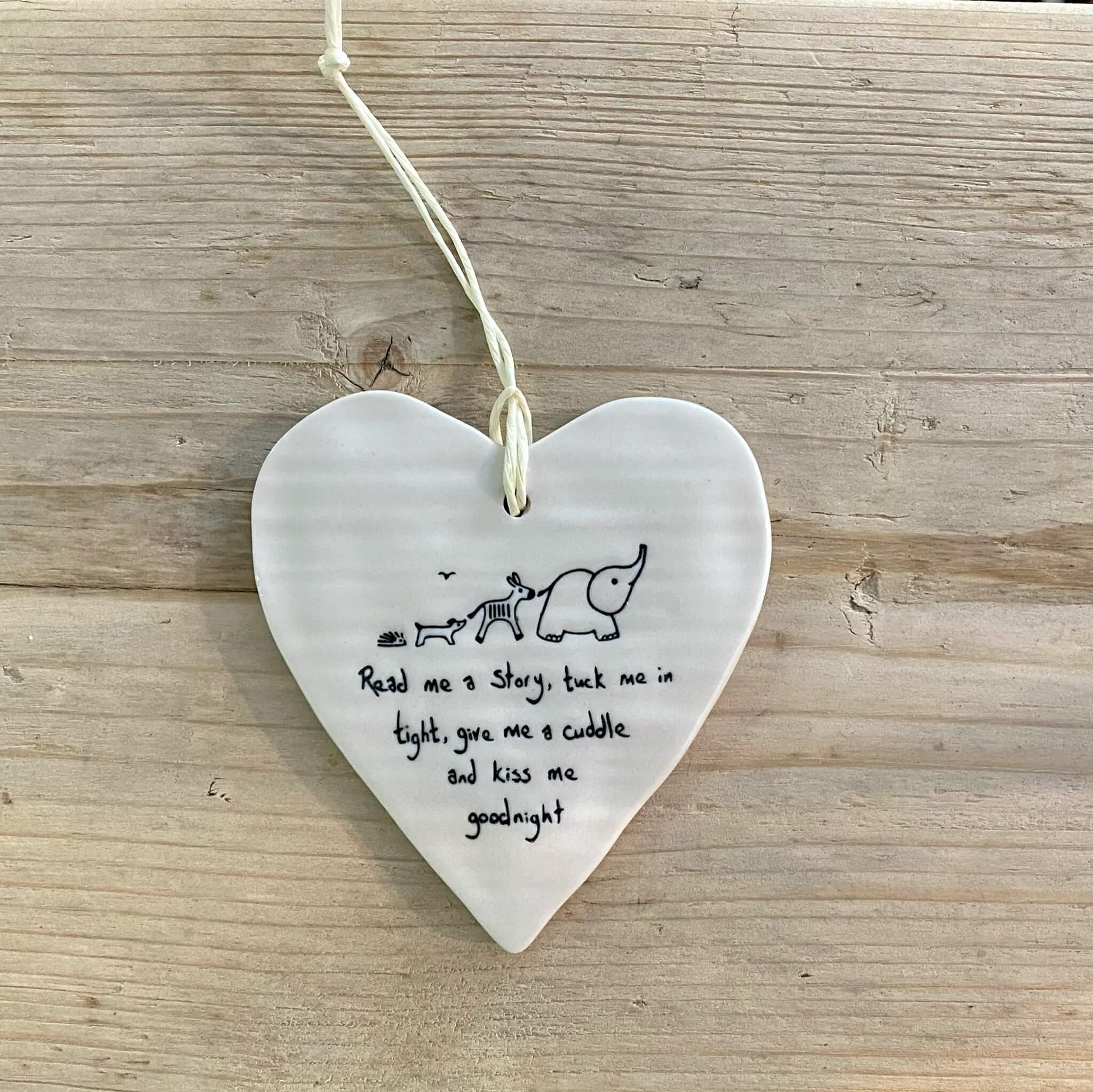 Porcelain Heart - Read me a story
