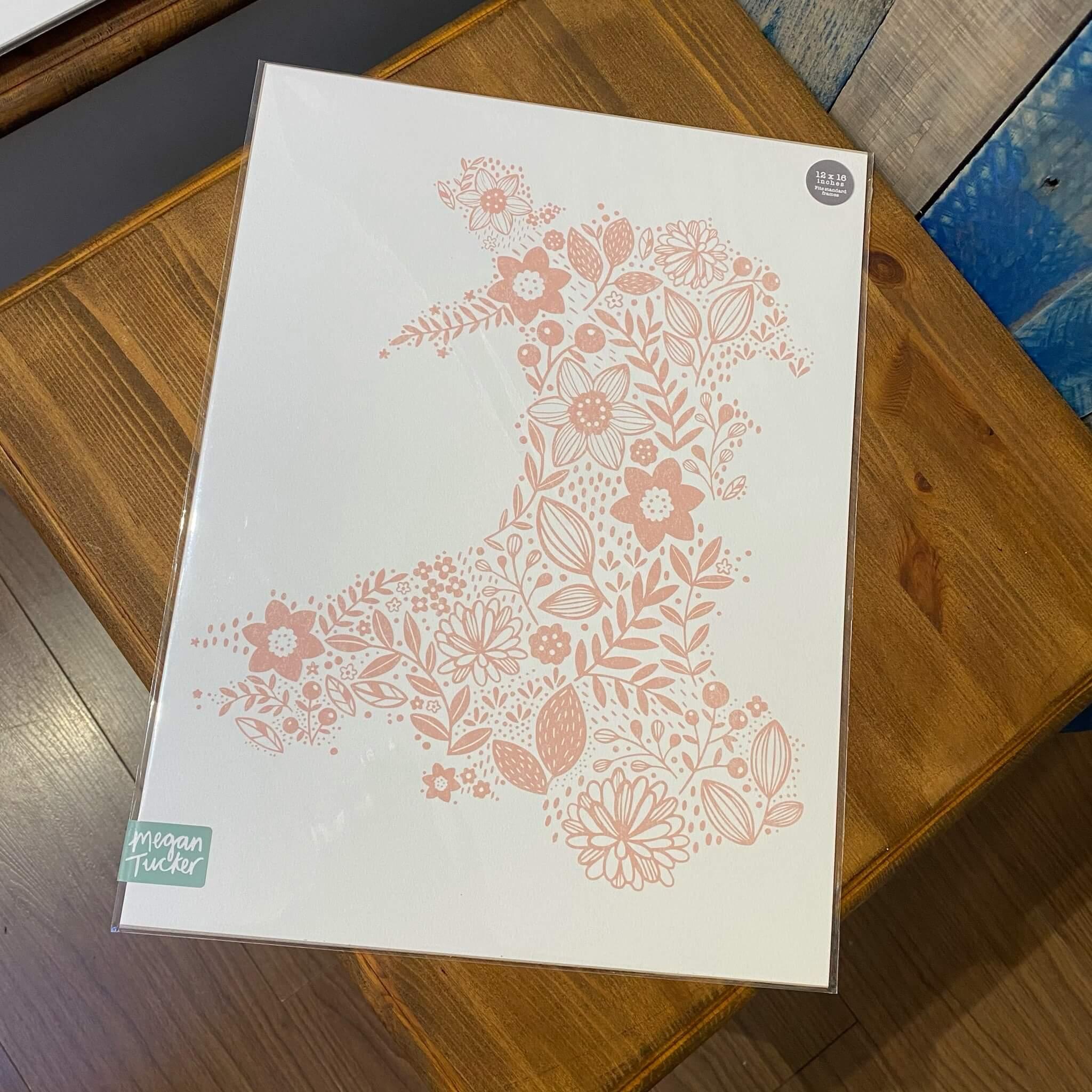 Wales in Bloom Print