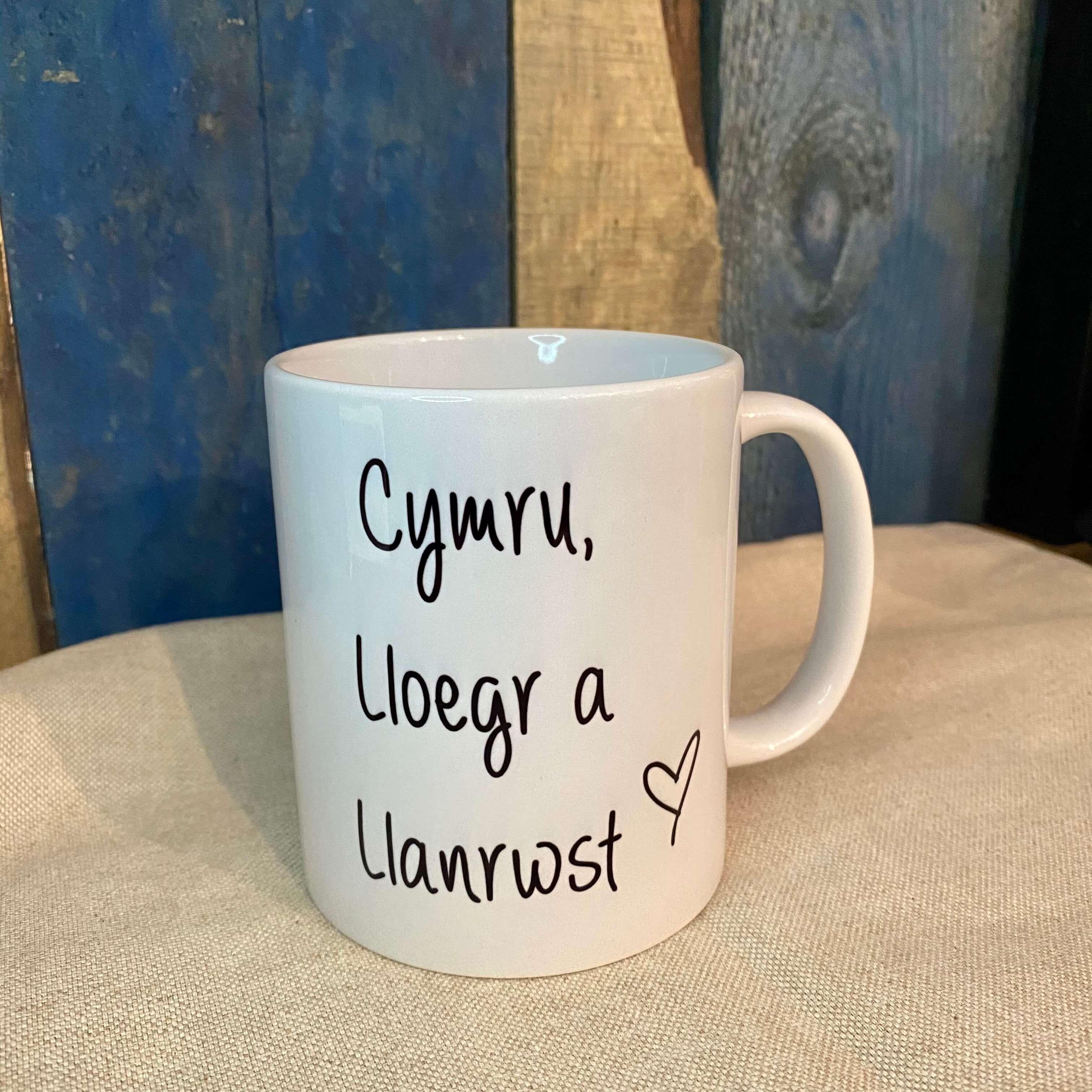 Cymru, Lloegr a Llanrwst Mug