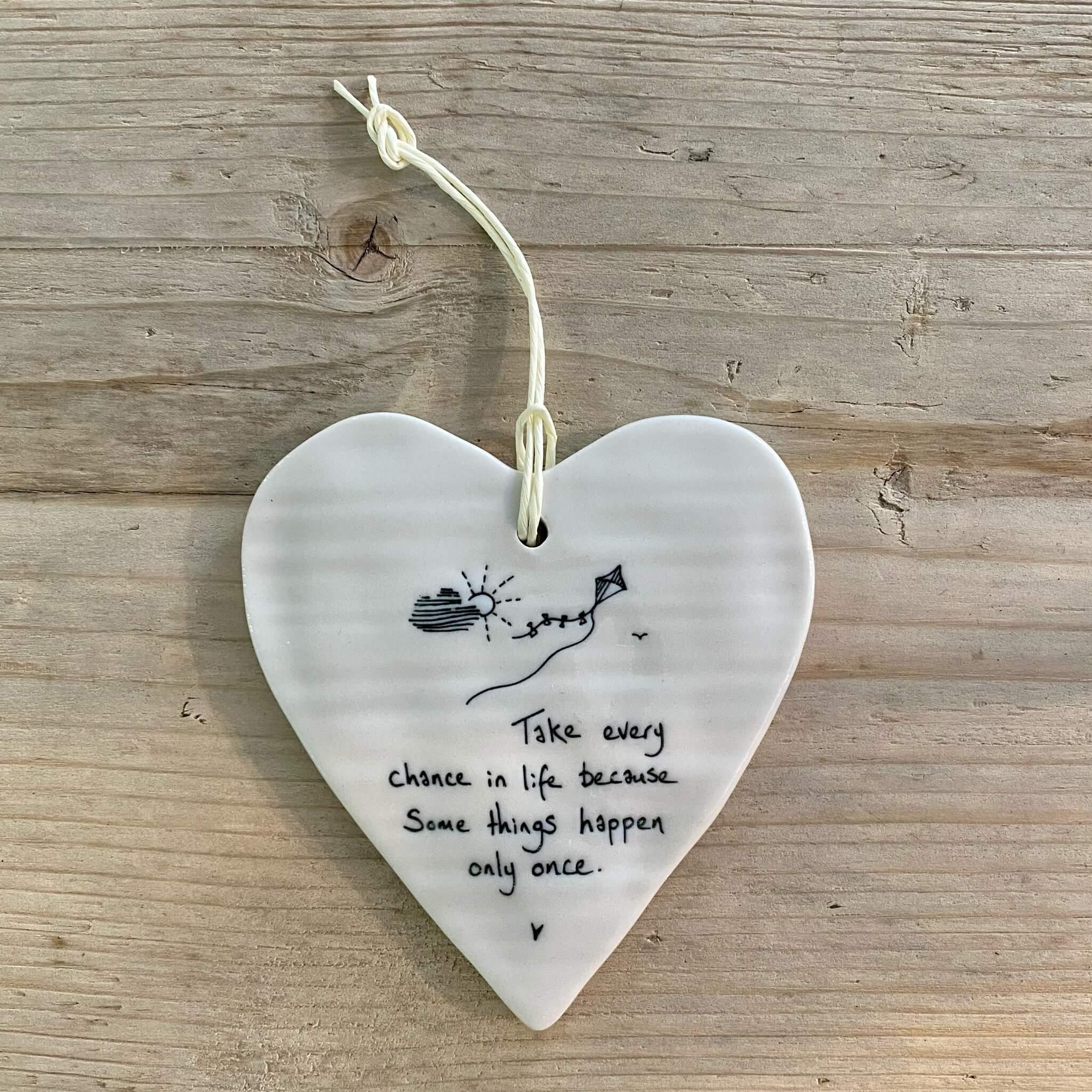 Porcelain Heart - Take every chance