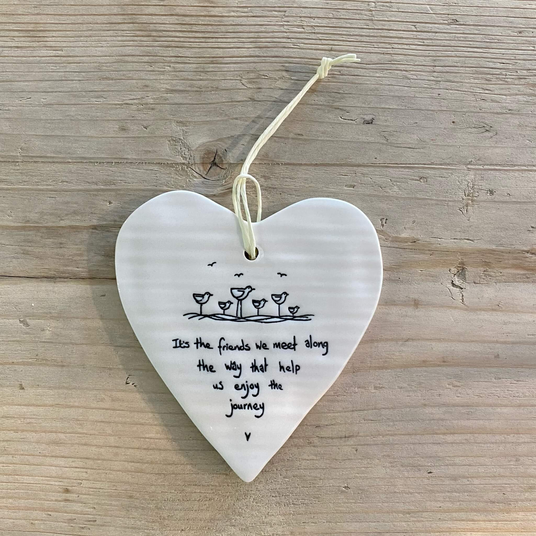 Porcelain Heart - Friends we meet
