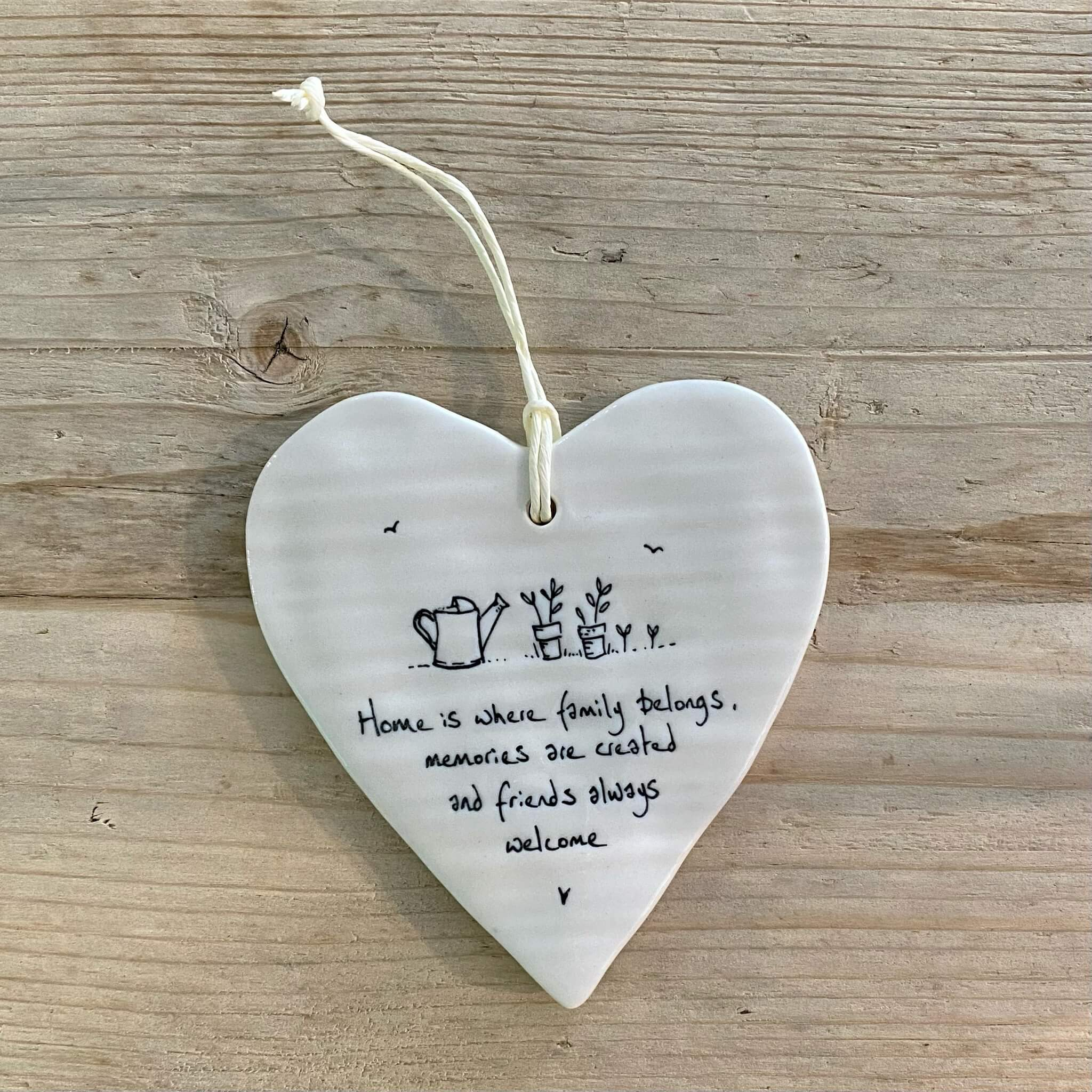 Porcelain Heart - Family belongs