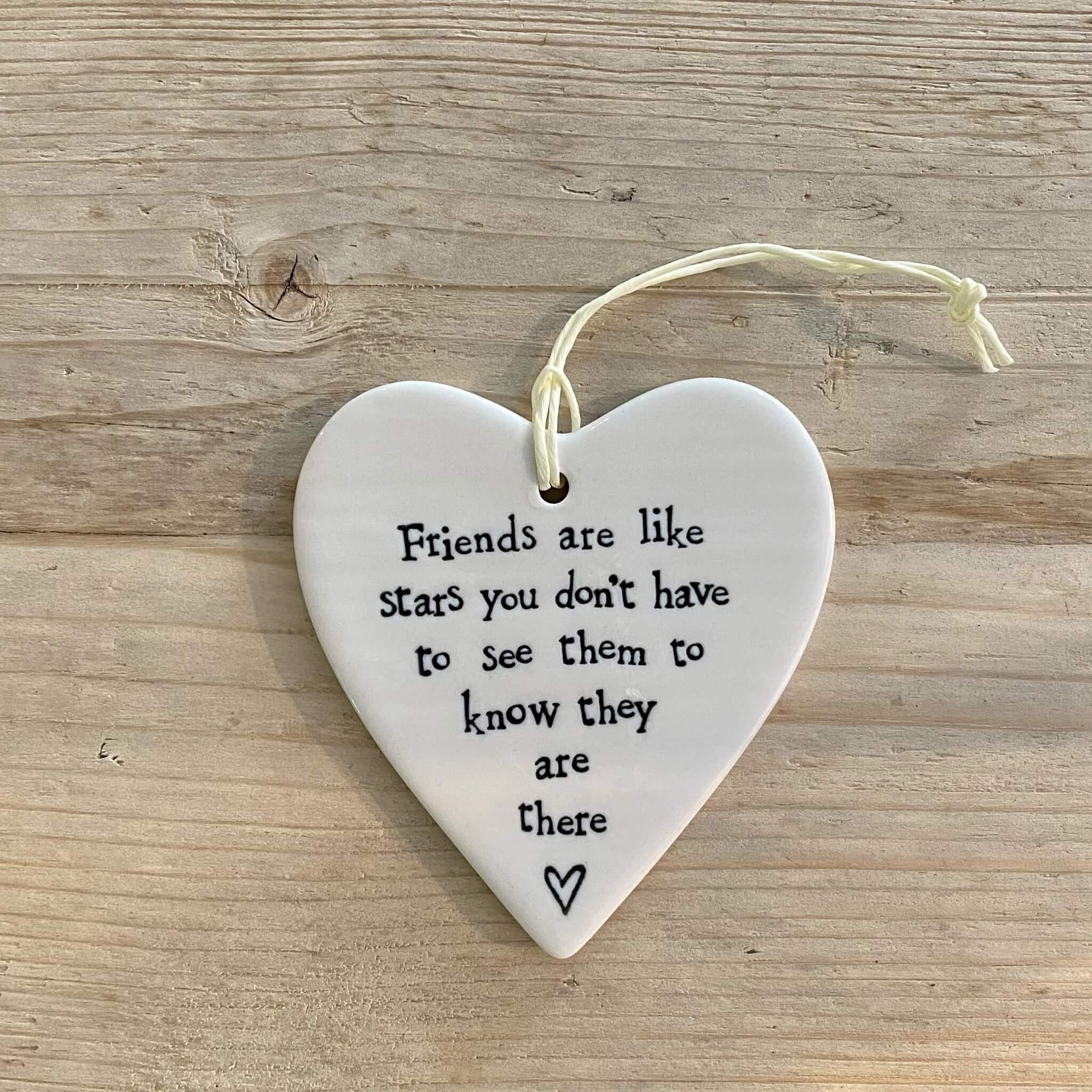 Porcelain Heart - Friends like stars