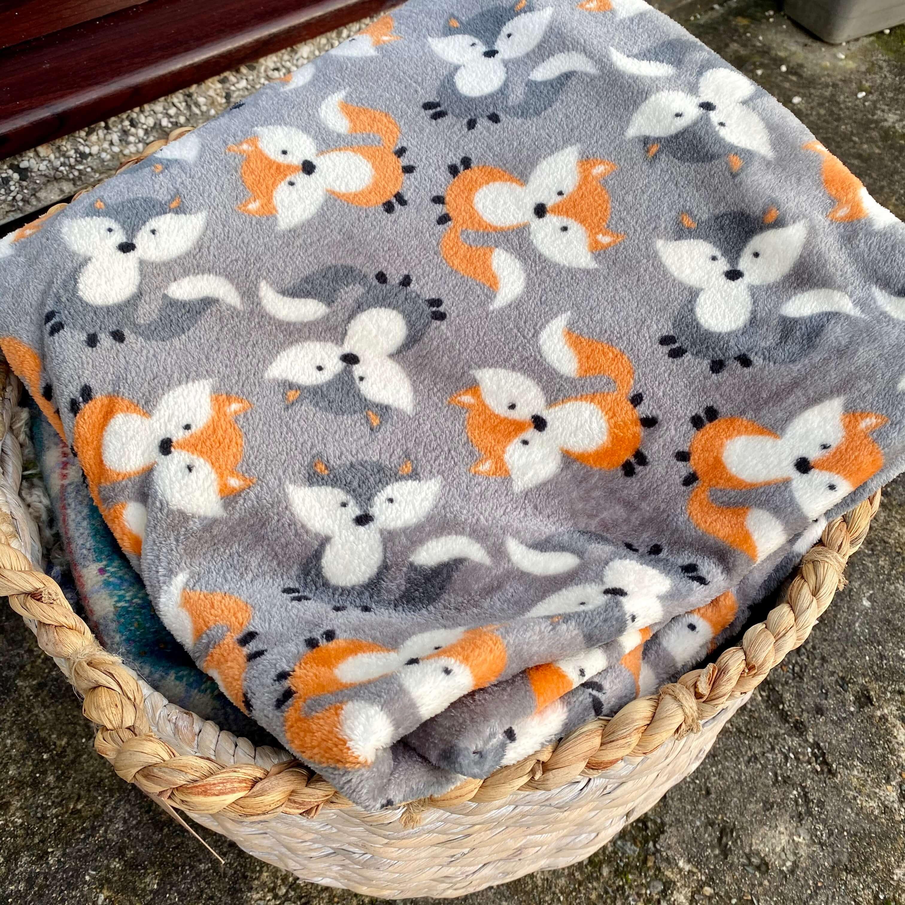 Fox & Woodland Blanket