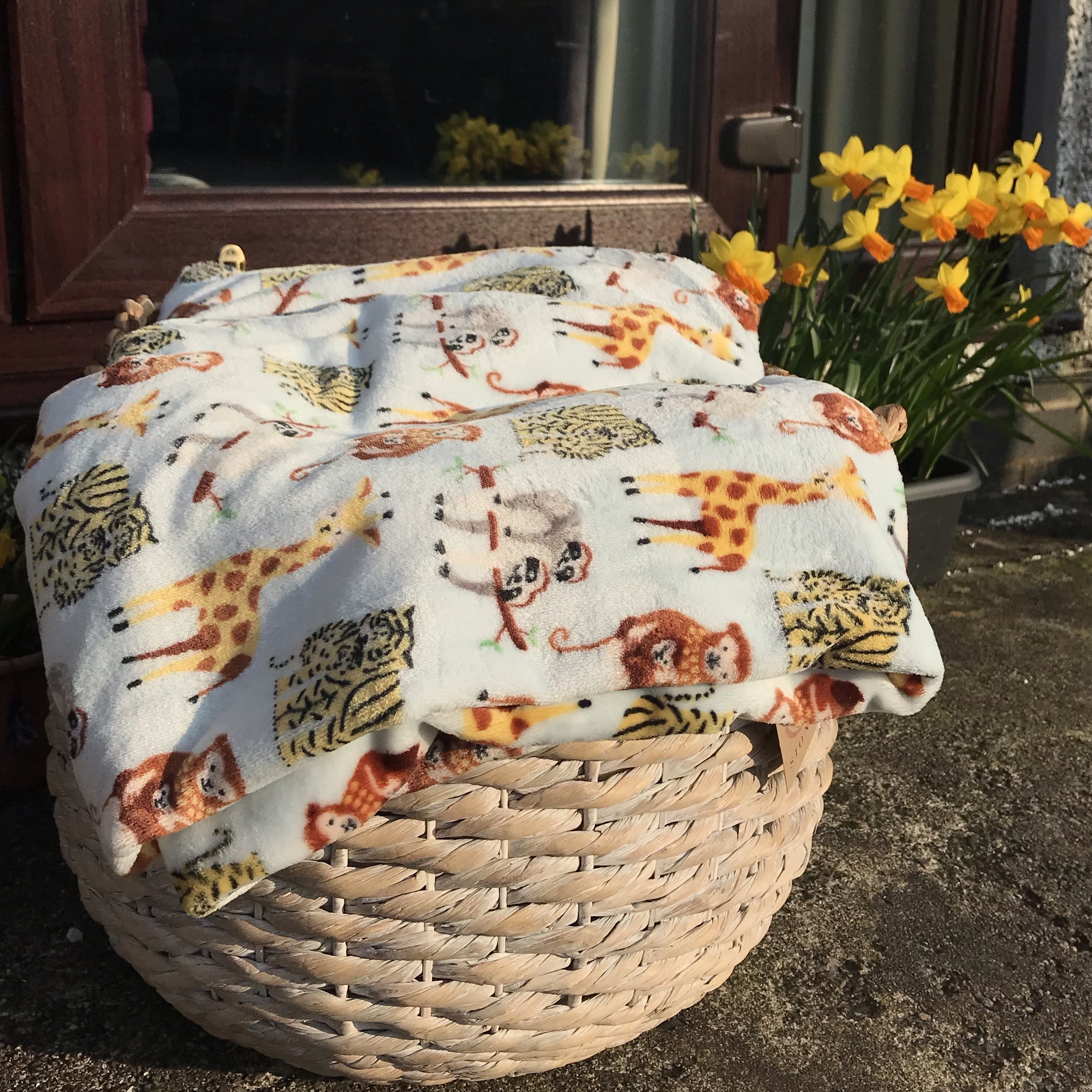 Safari Print Blanket