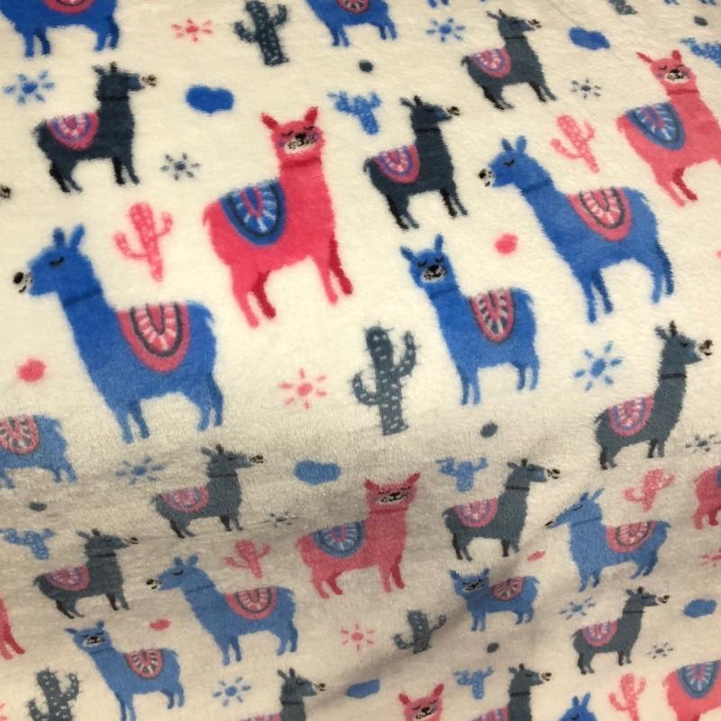 Llama Print Blanket