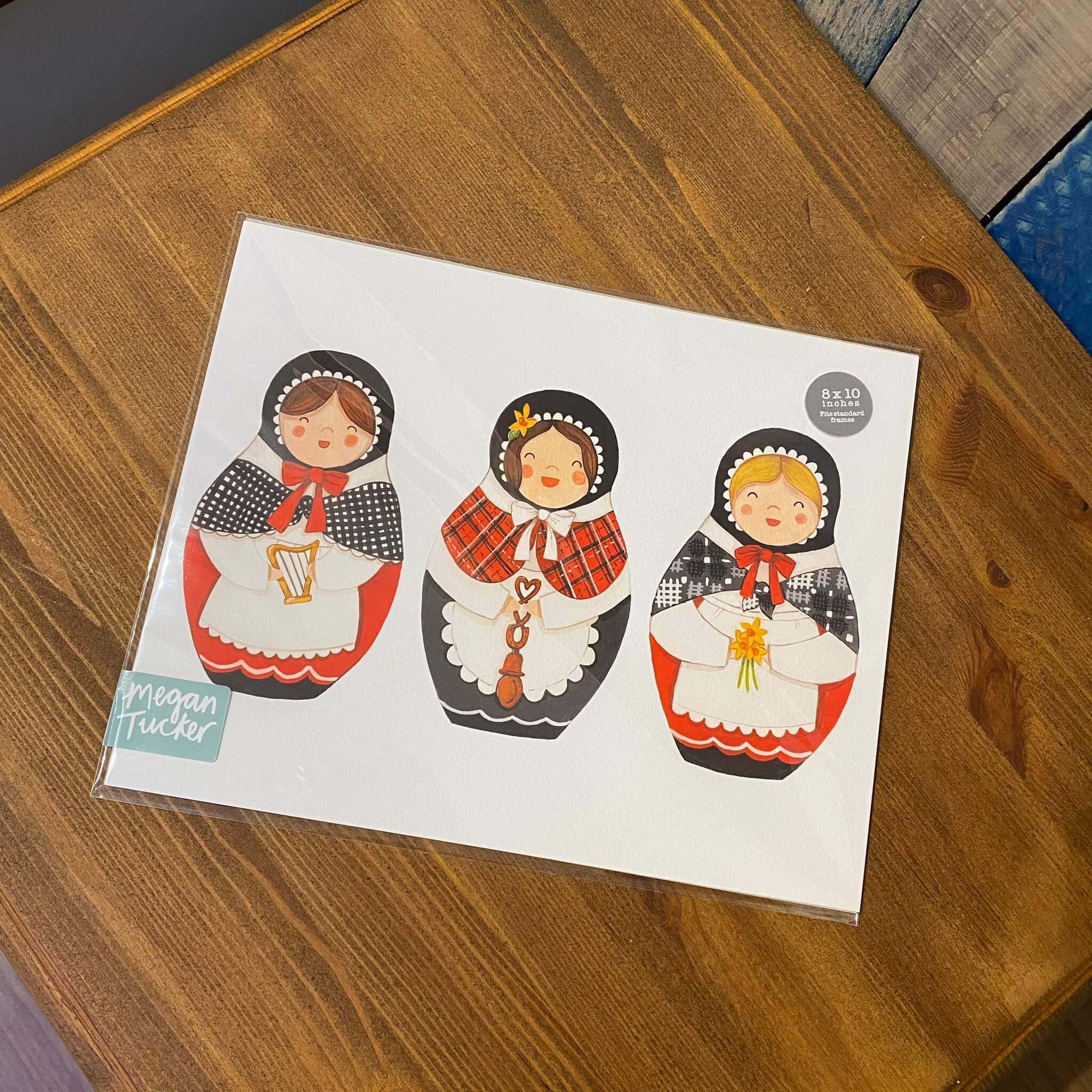 Welsh Doll Print