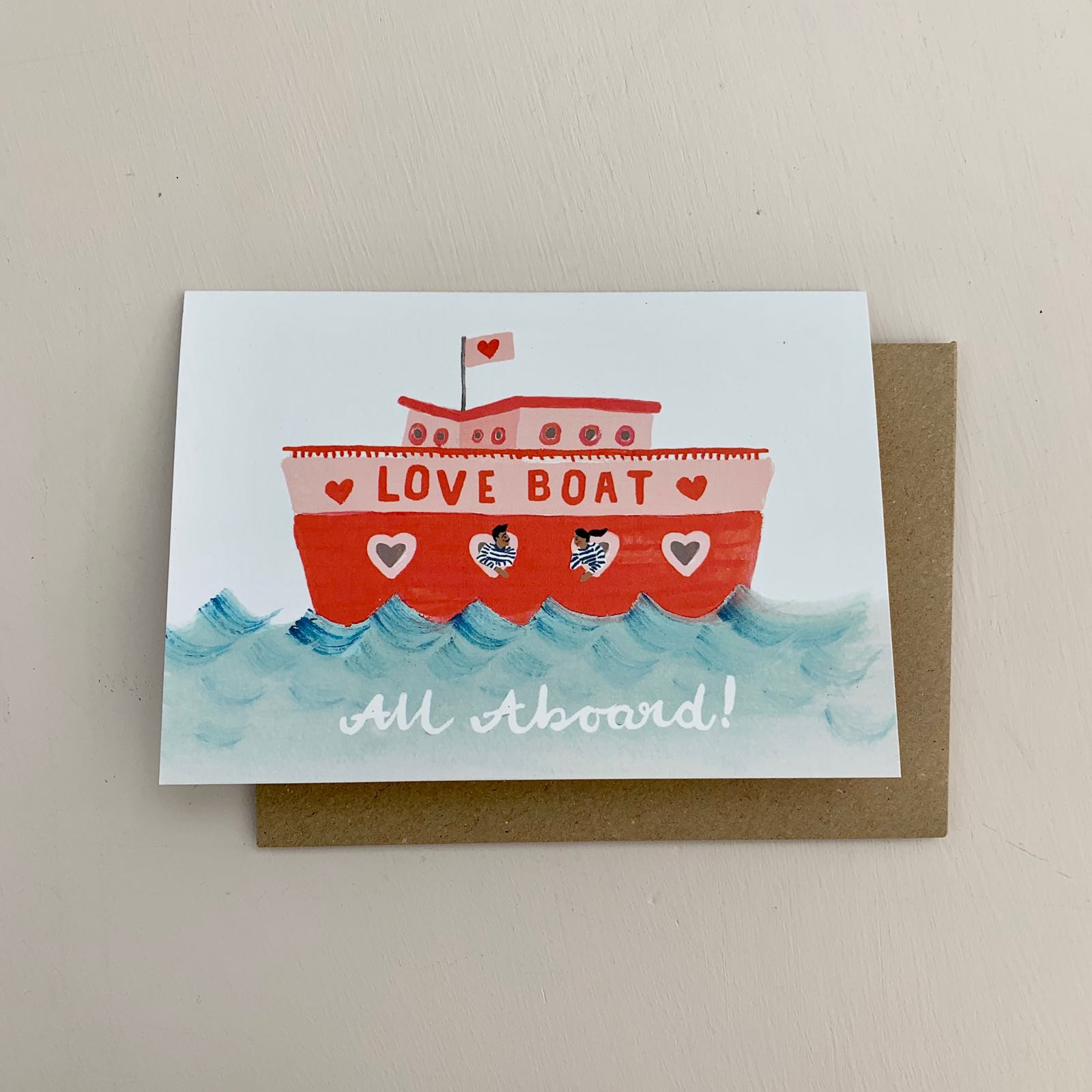 Love Boat Card