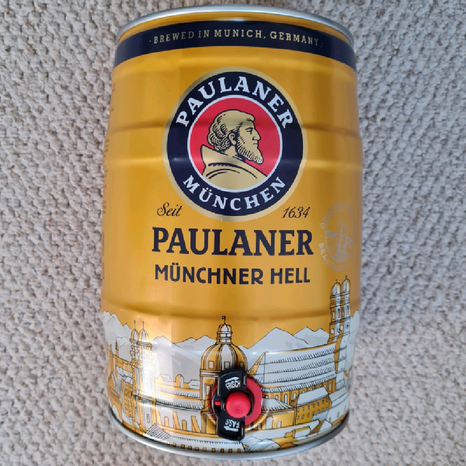 Paulaner Munich Helles 5ltr mini keg