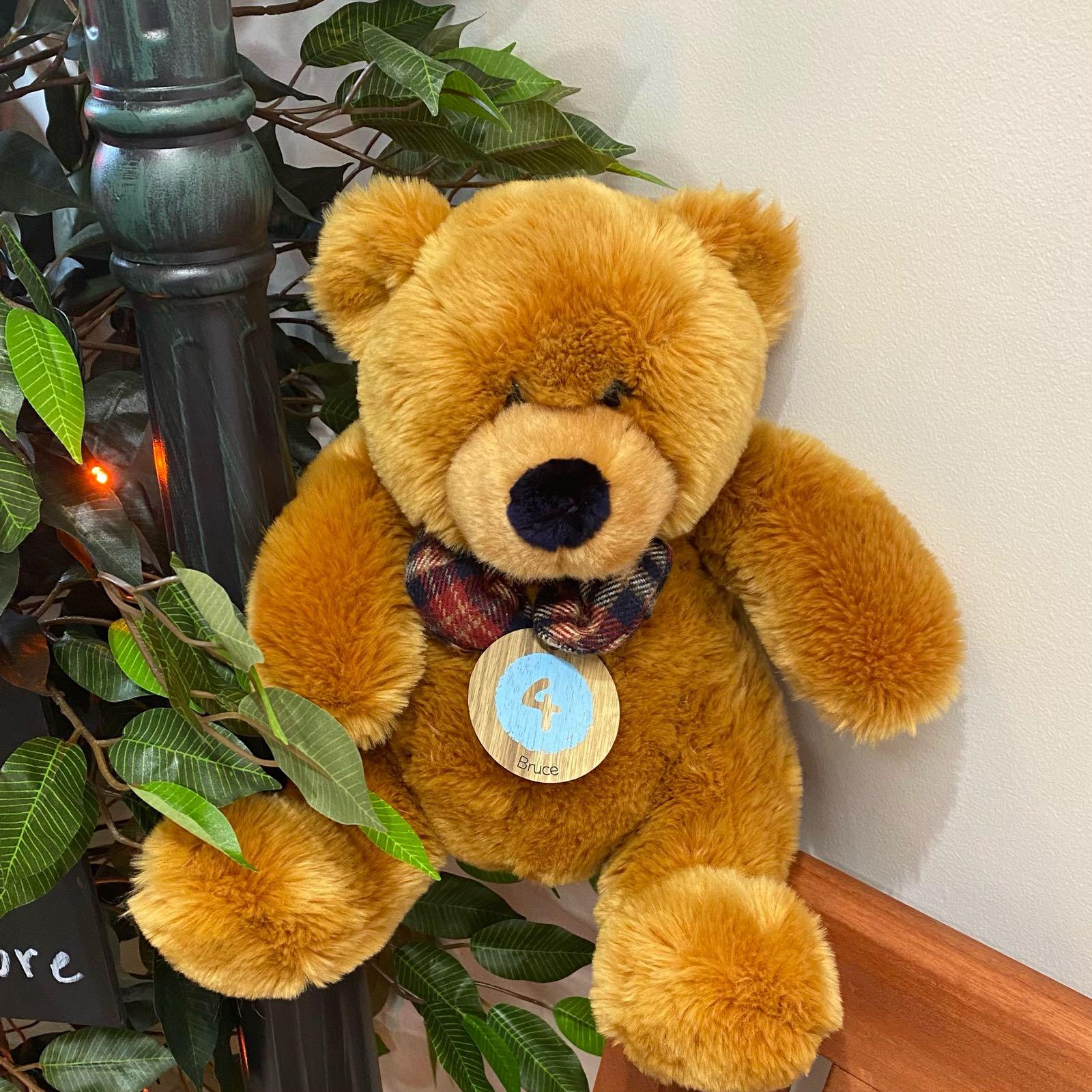 TEDDY BRUCE