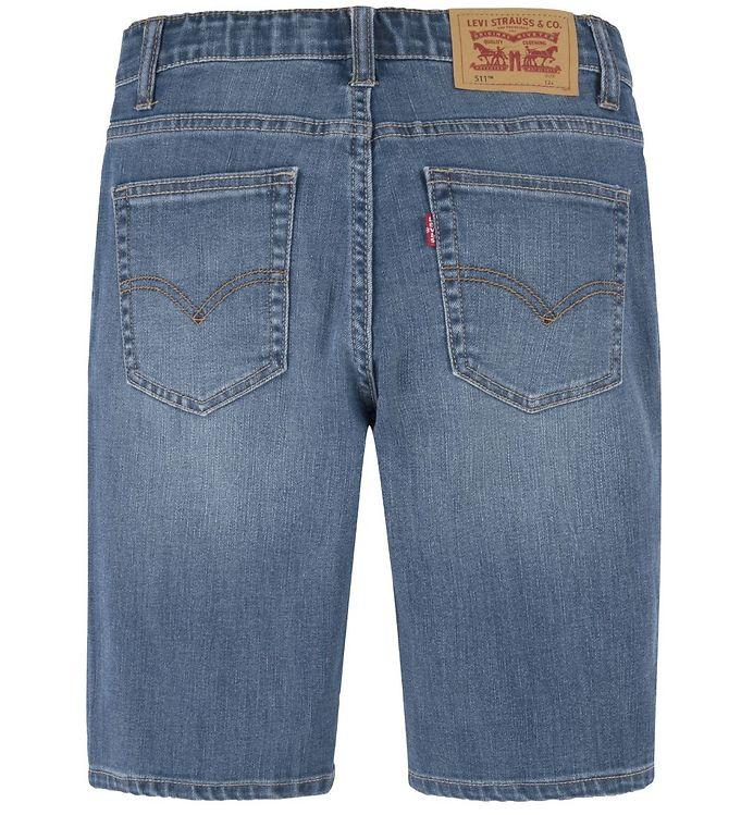 Levis 511 Slim Shorts spit fire