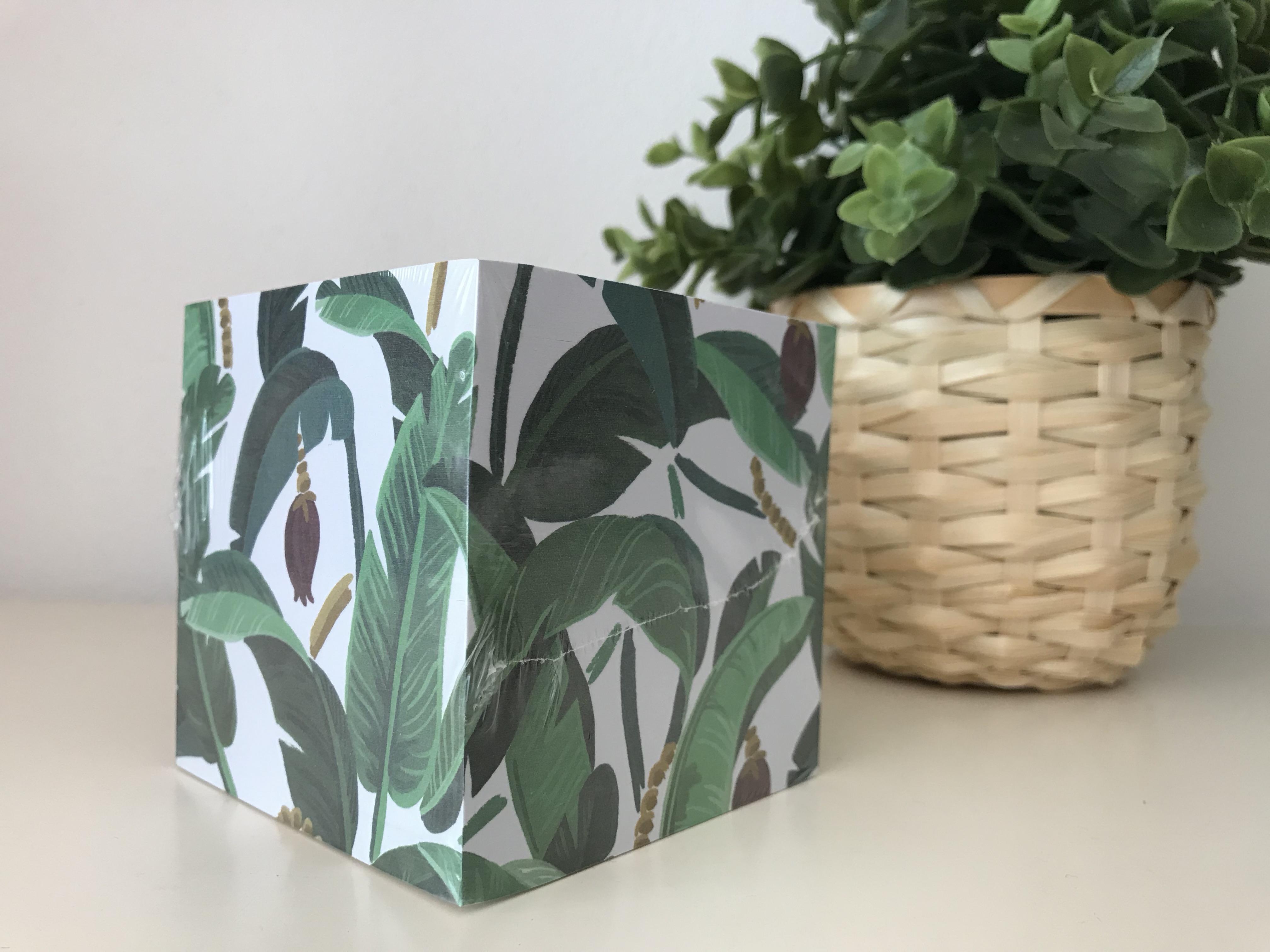 Banana leaf market Cube