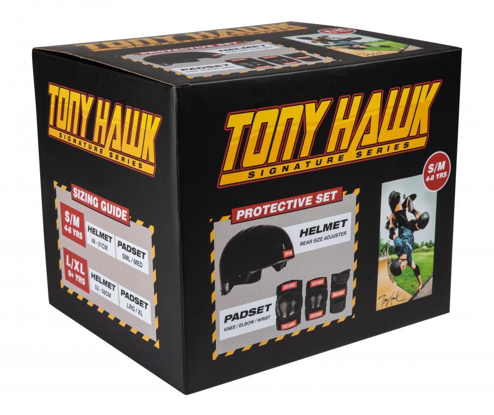 Tony Hawk Helmet & Padset
