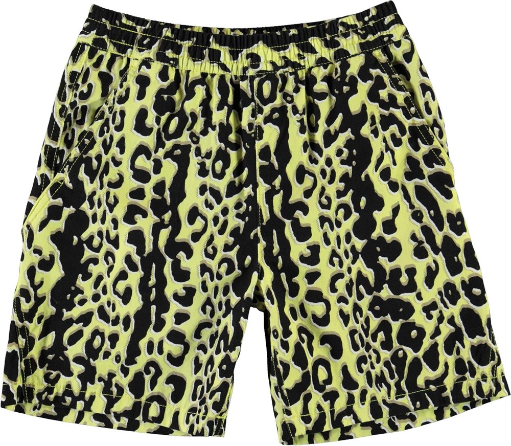 Acton Leopard Shorts