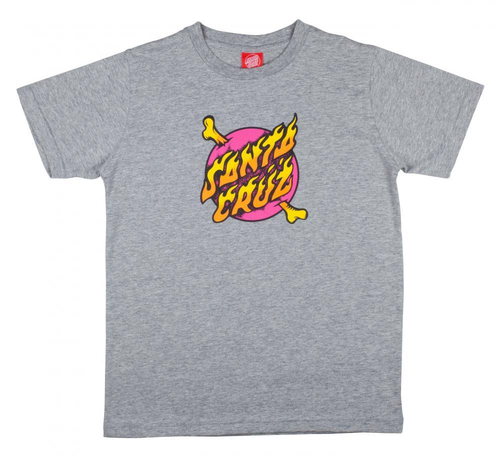 Santa Cruz Cross Bone T-skjorte