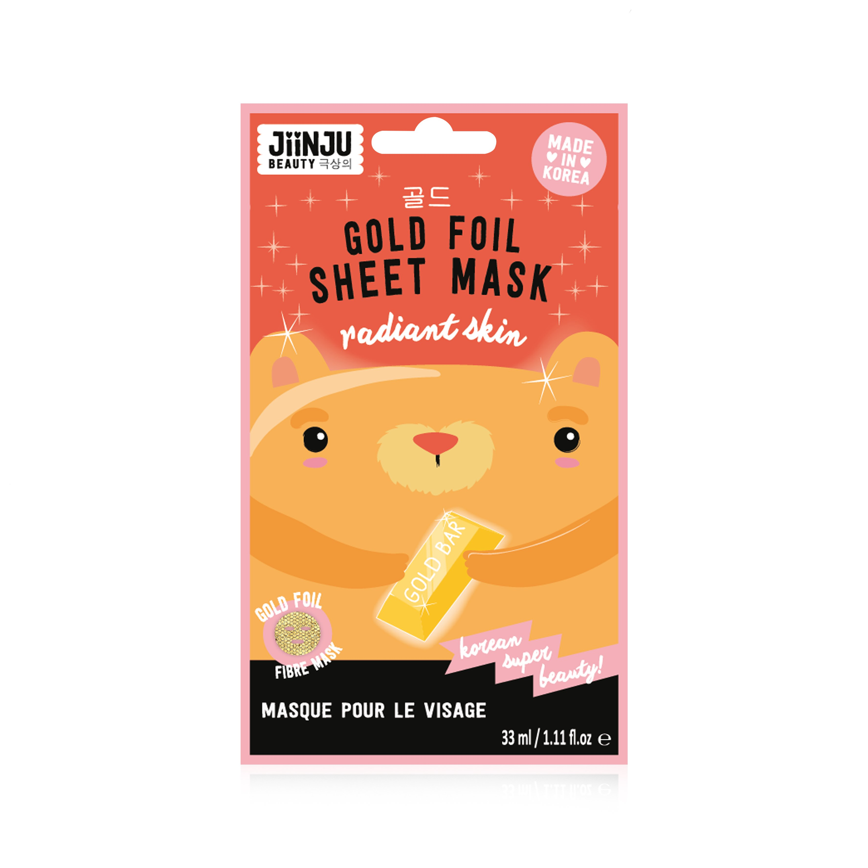 JiinJu Gold Foil Mask