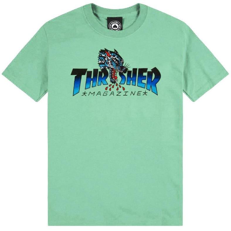 Thrasher Leopard T-skjorte