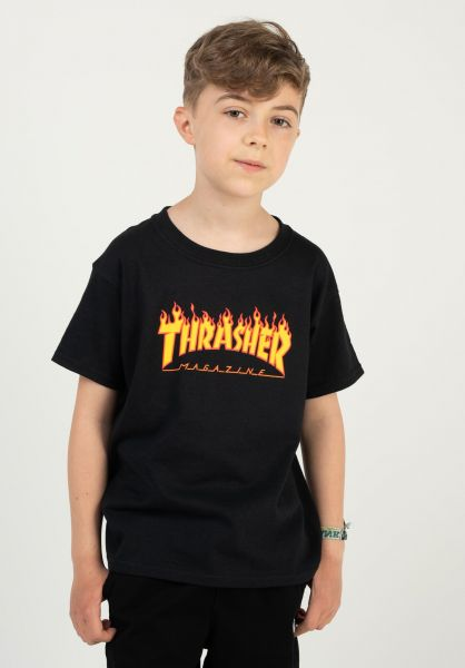 Thrasher Flame Youth T-Shirt