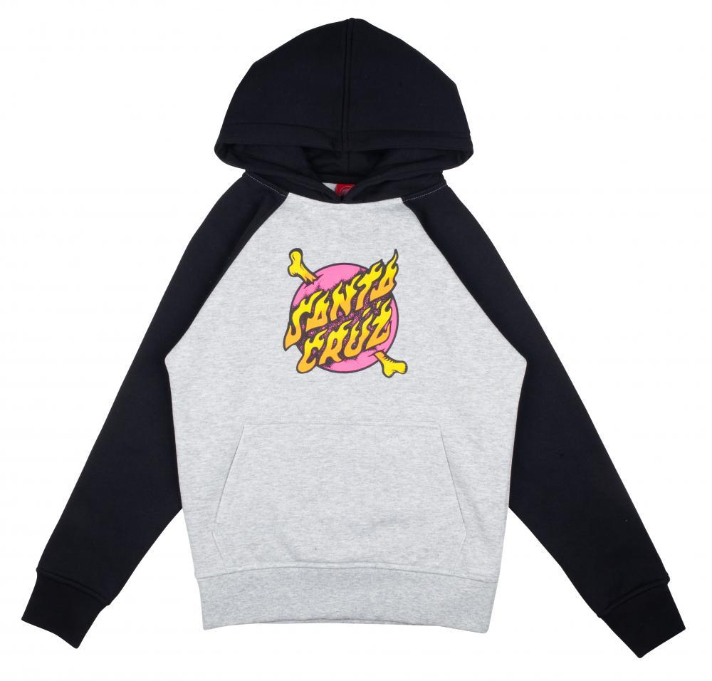 Santa Cruz Youth Cross Bone hood