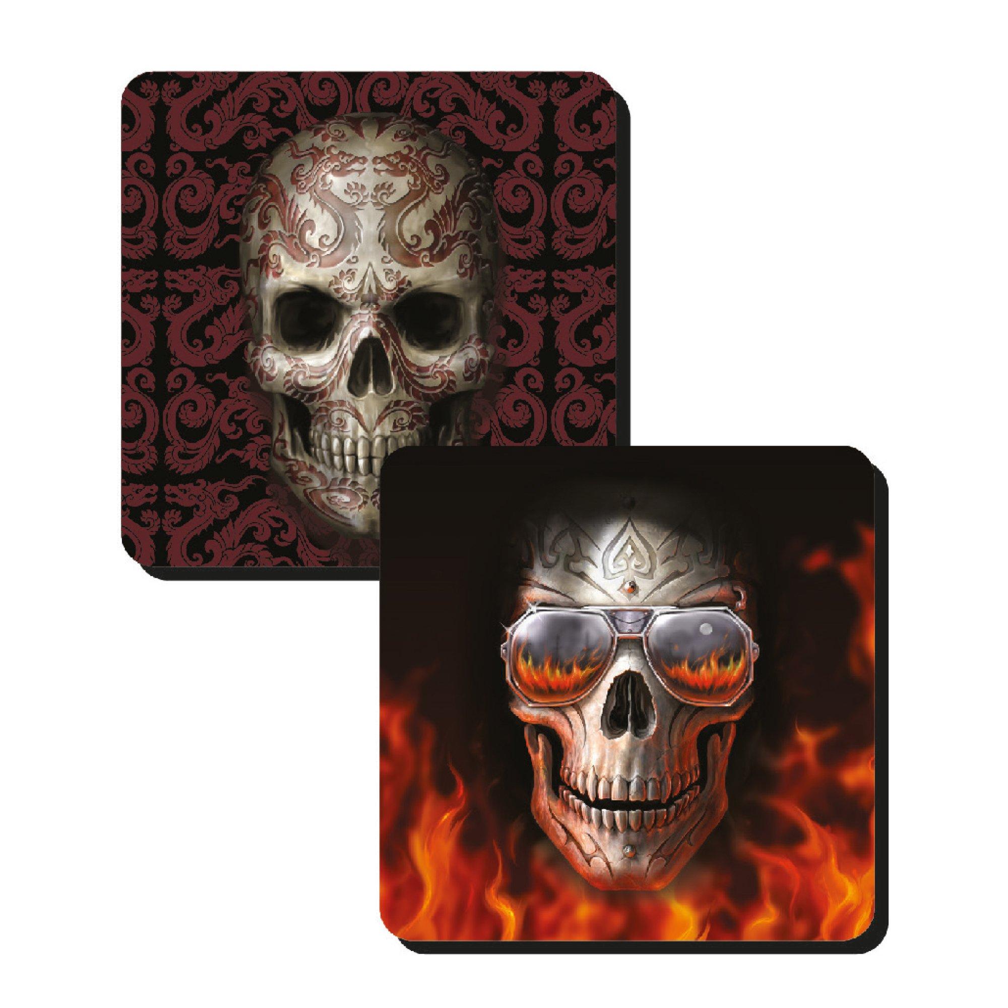 Anne Stokes Skull Coasters
