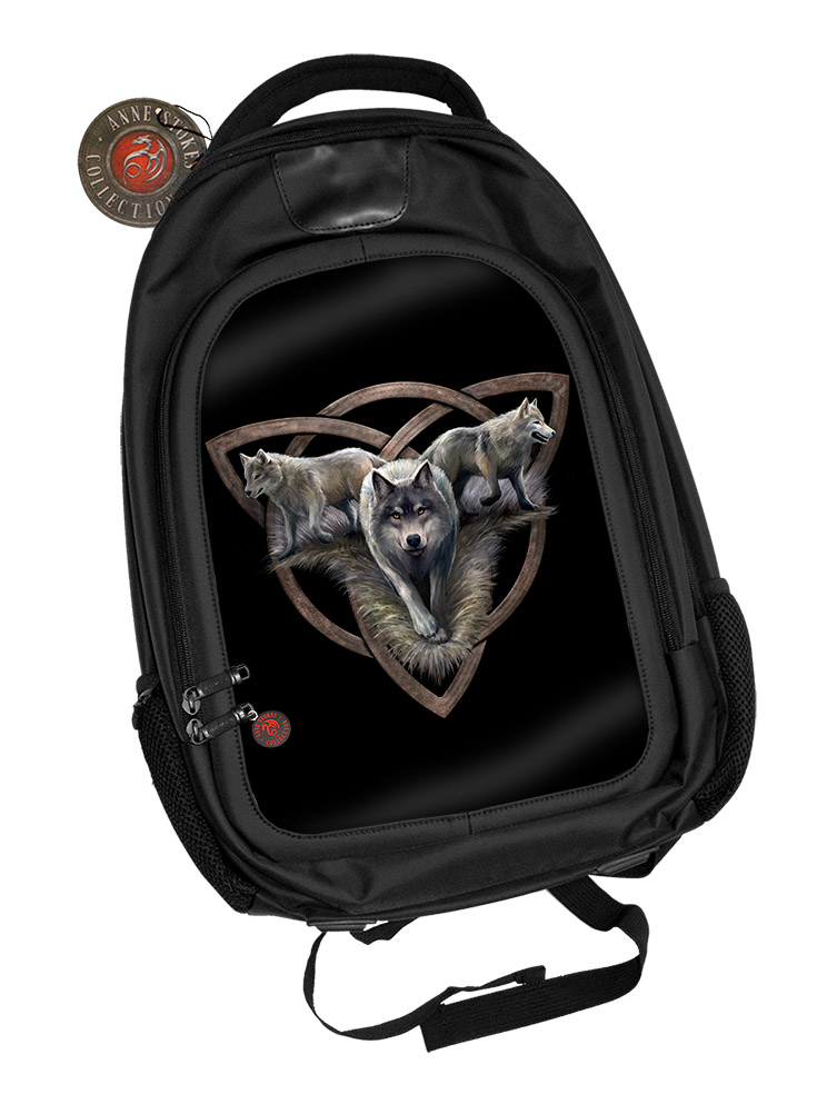 Wolf Trio 3D Backpack - SIGNED