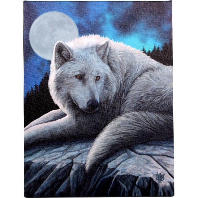 Guardian Of The North Small Canvas (Lisa Parker)
