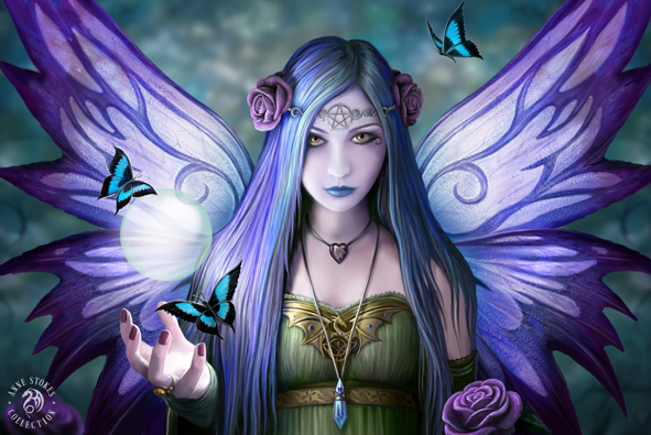 Mystic Aura 3D Print (Anne Stokes)