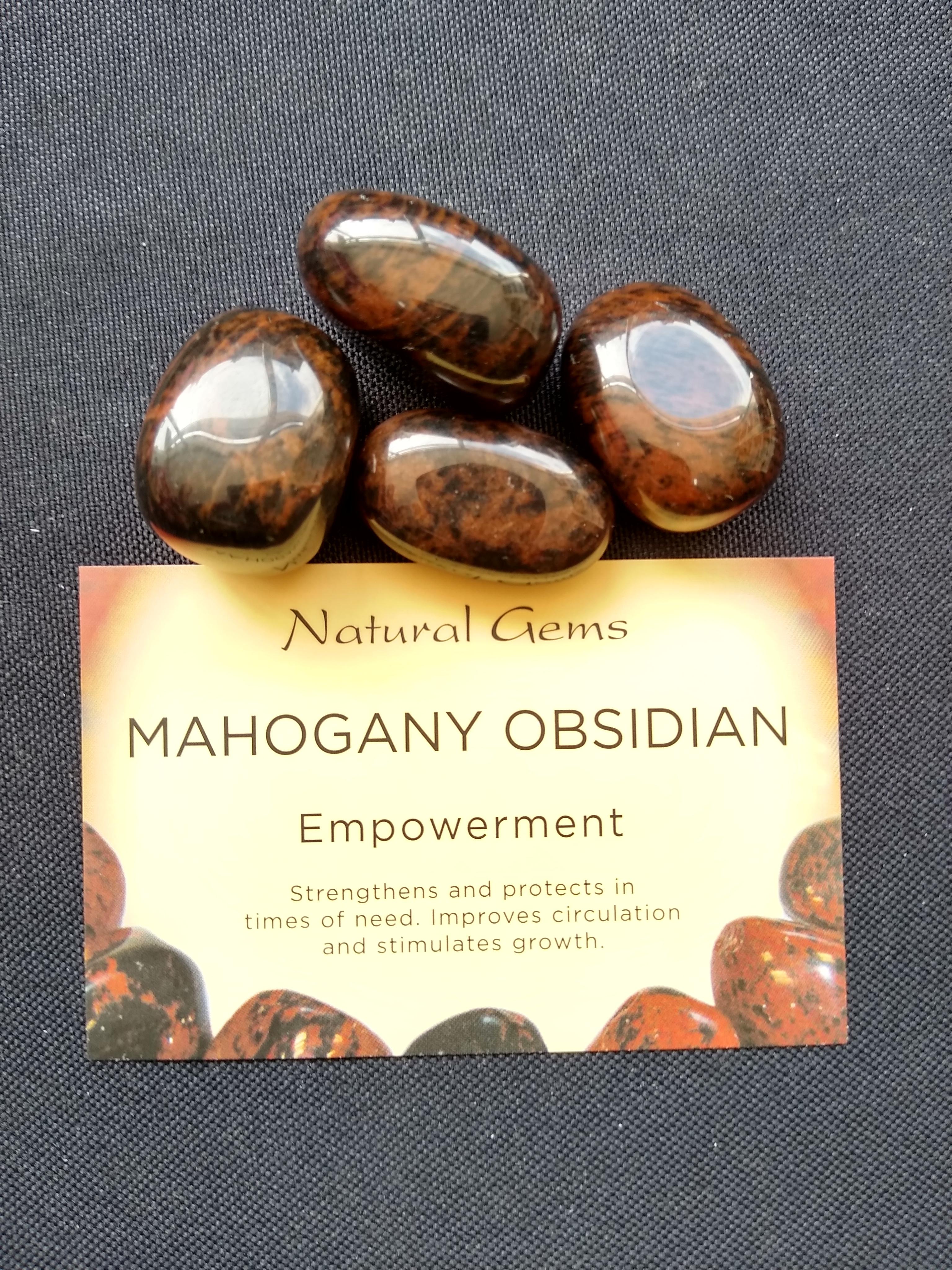 Mahogany Obsidian Gemstone