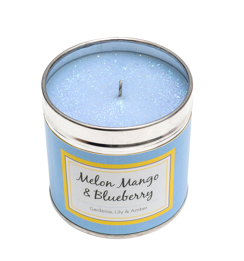 Melon, Mango & Blueberry Sparkling Candle