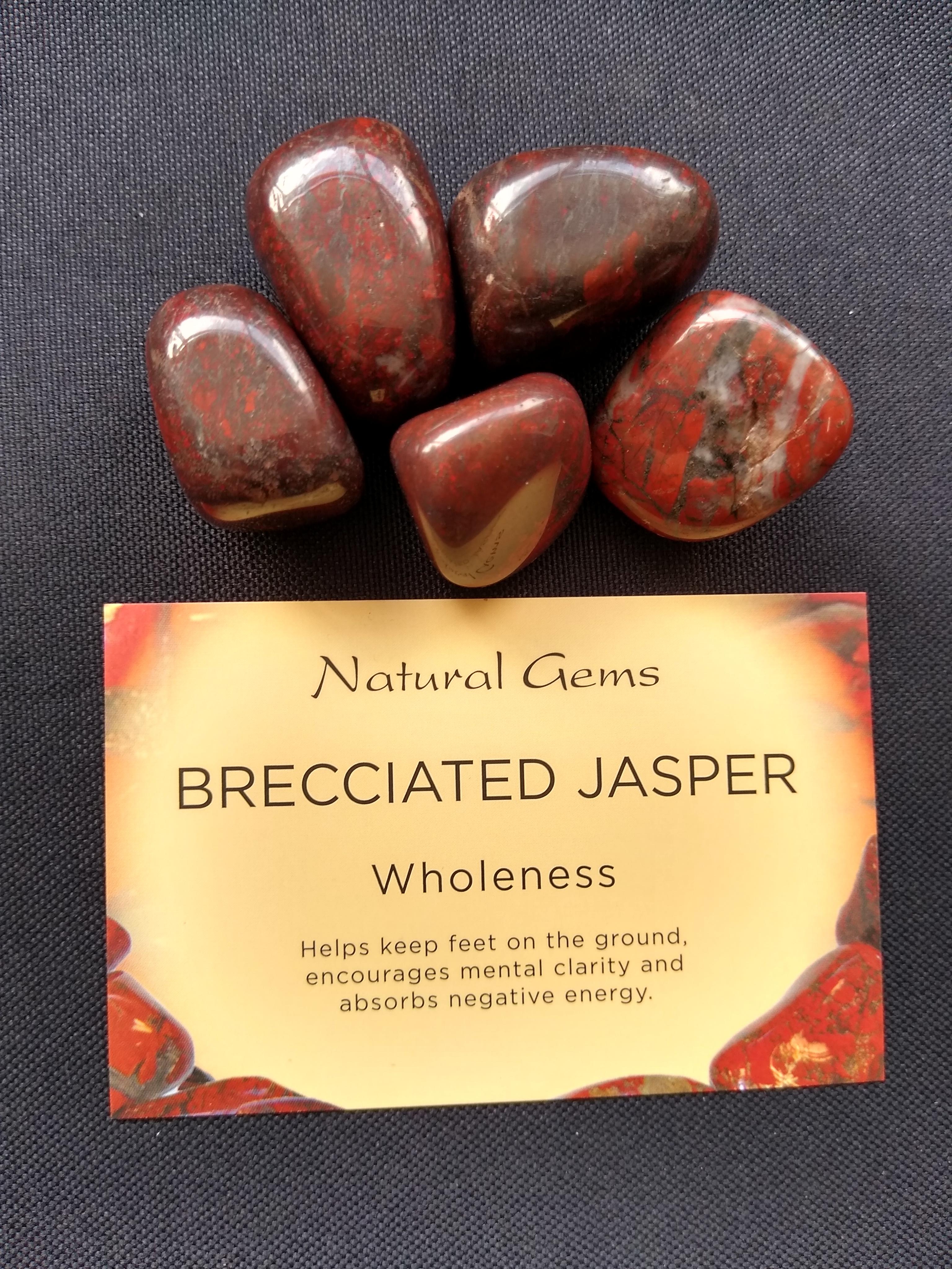 Brecciated Jasper Gemstone