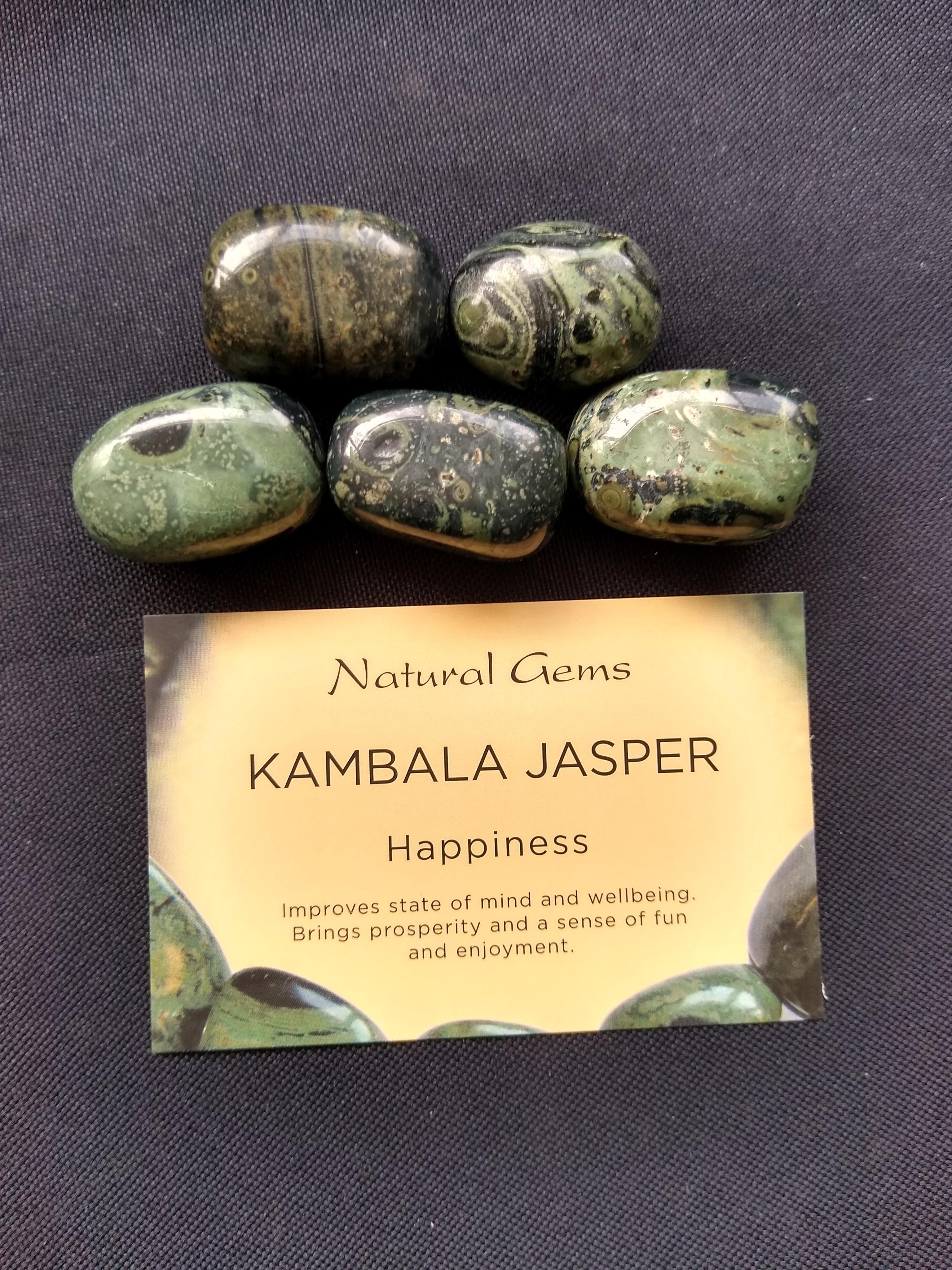 Kambala Jasper Gemstone