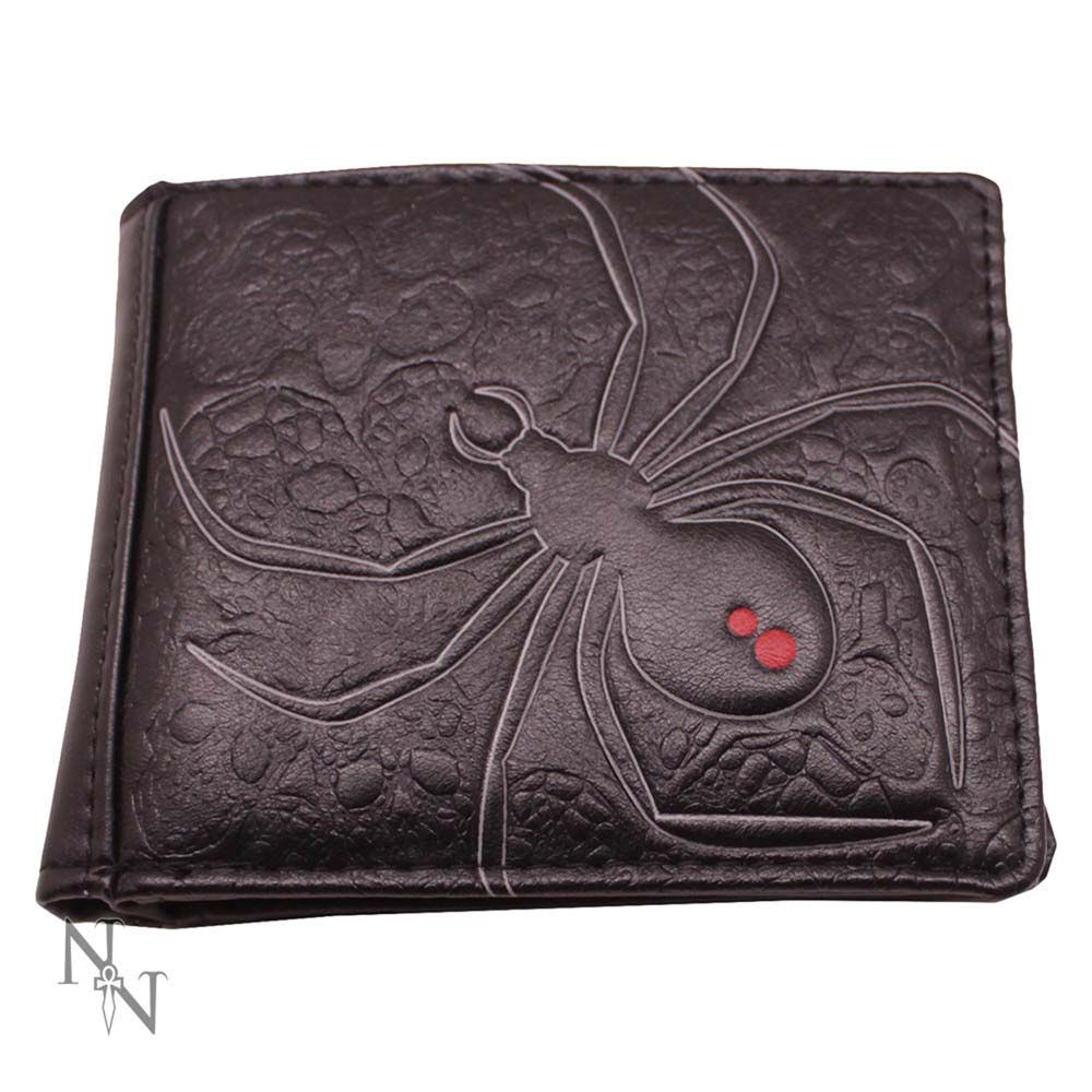 Black Widow Embossed Wallet